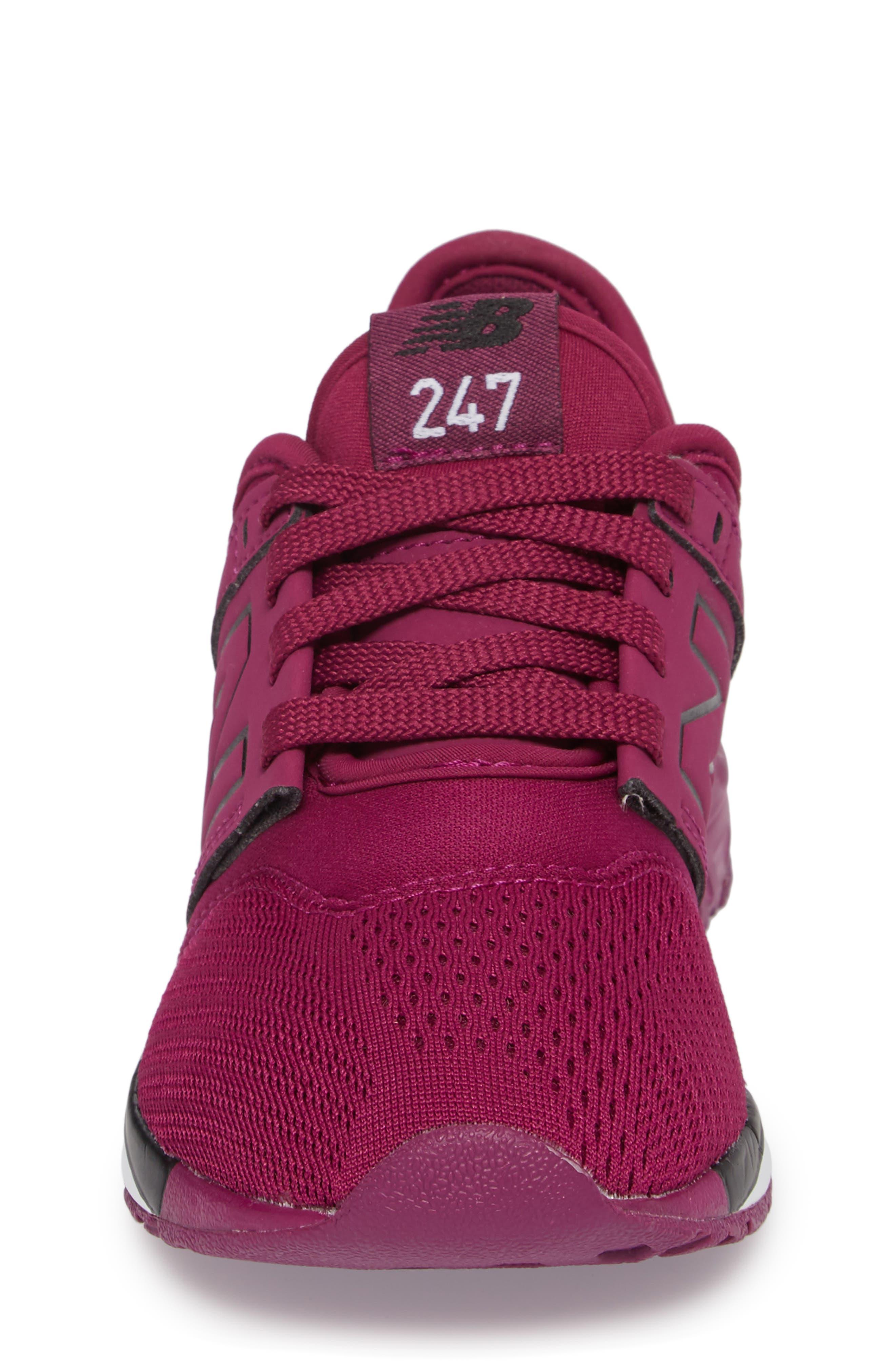 247 Sport Sneaker,                             Alternate thumbnail 4, color,                             Red/ Black