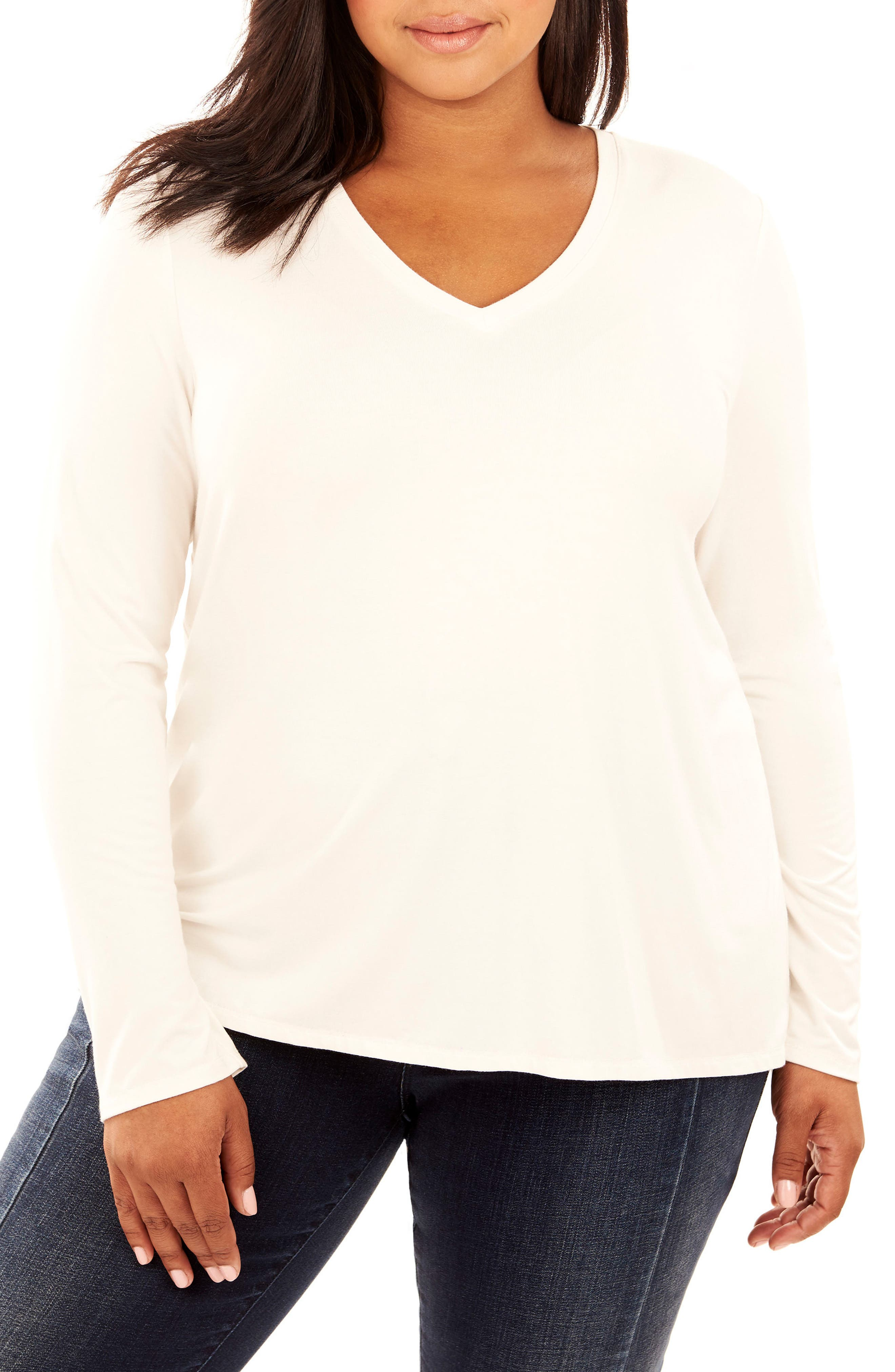 Lace-Up Back Top,                             Main thumbnail 1, color,                             White