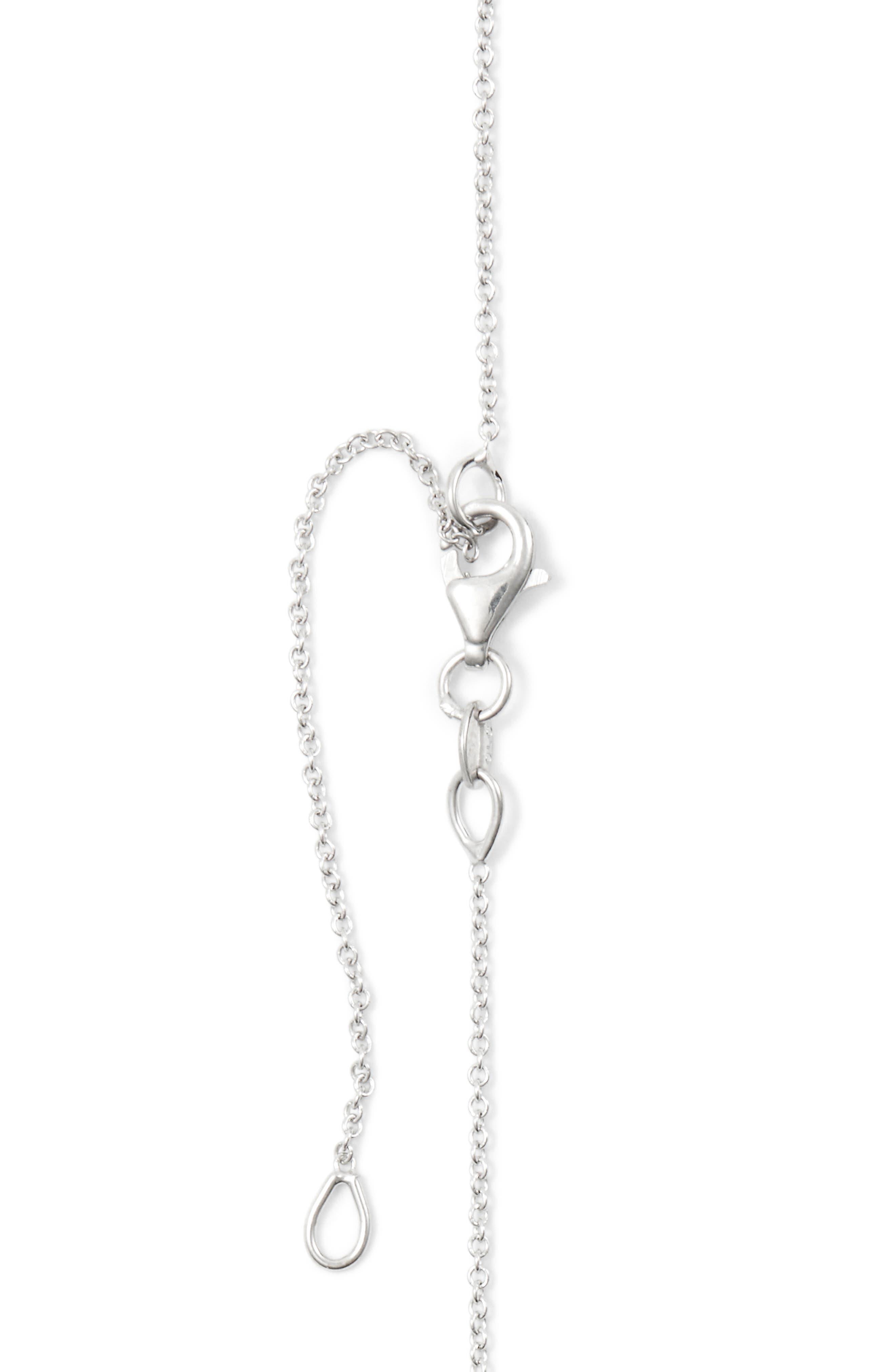 Alternate Image 5  - Bony Levy Pavé Diamond Initial Pendant Necklace (Nordstrom Exclusive)