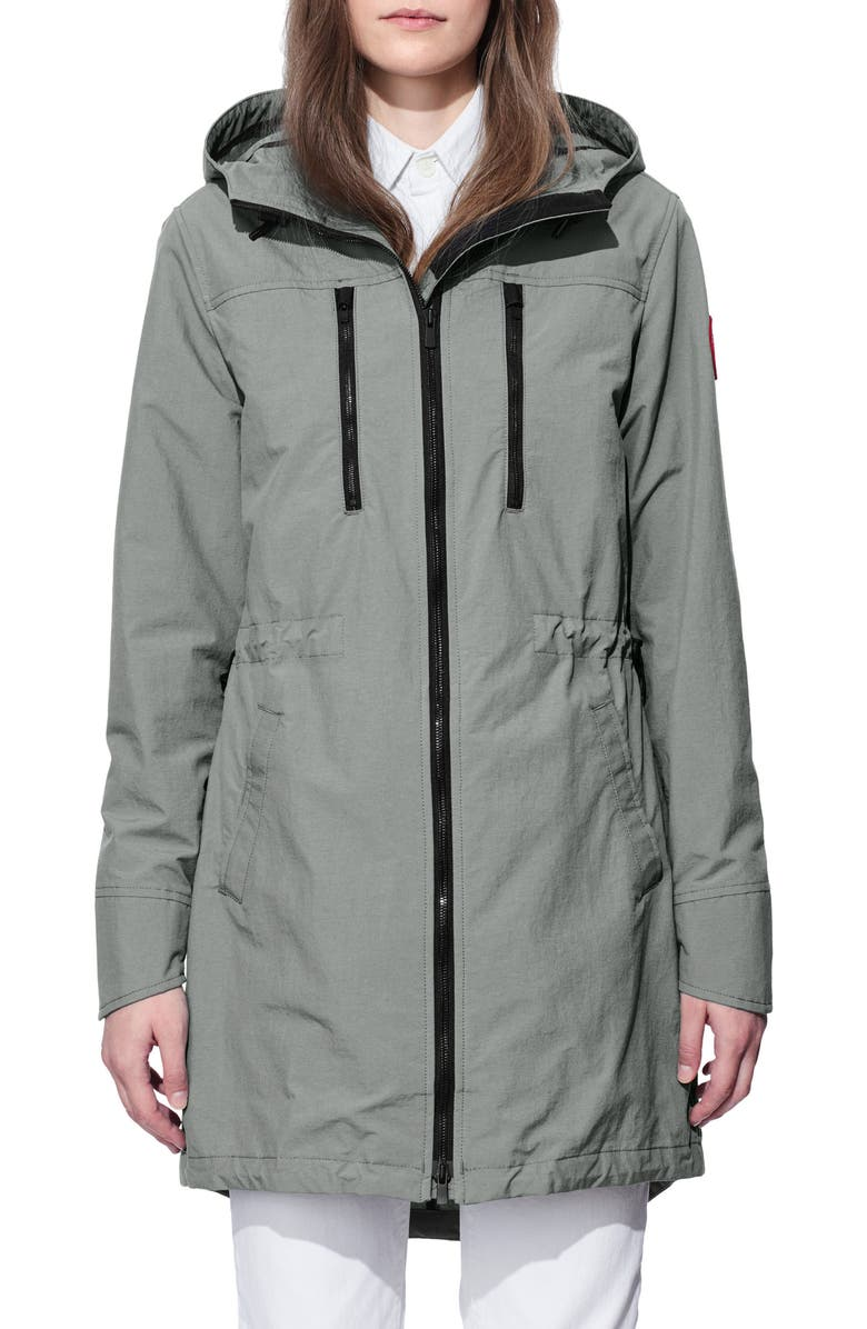 Brossard Hooded Drop Tail Jacket