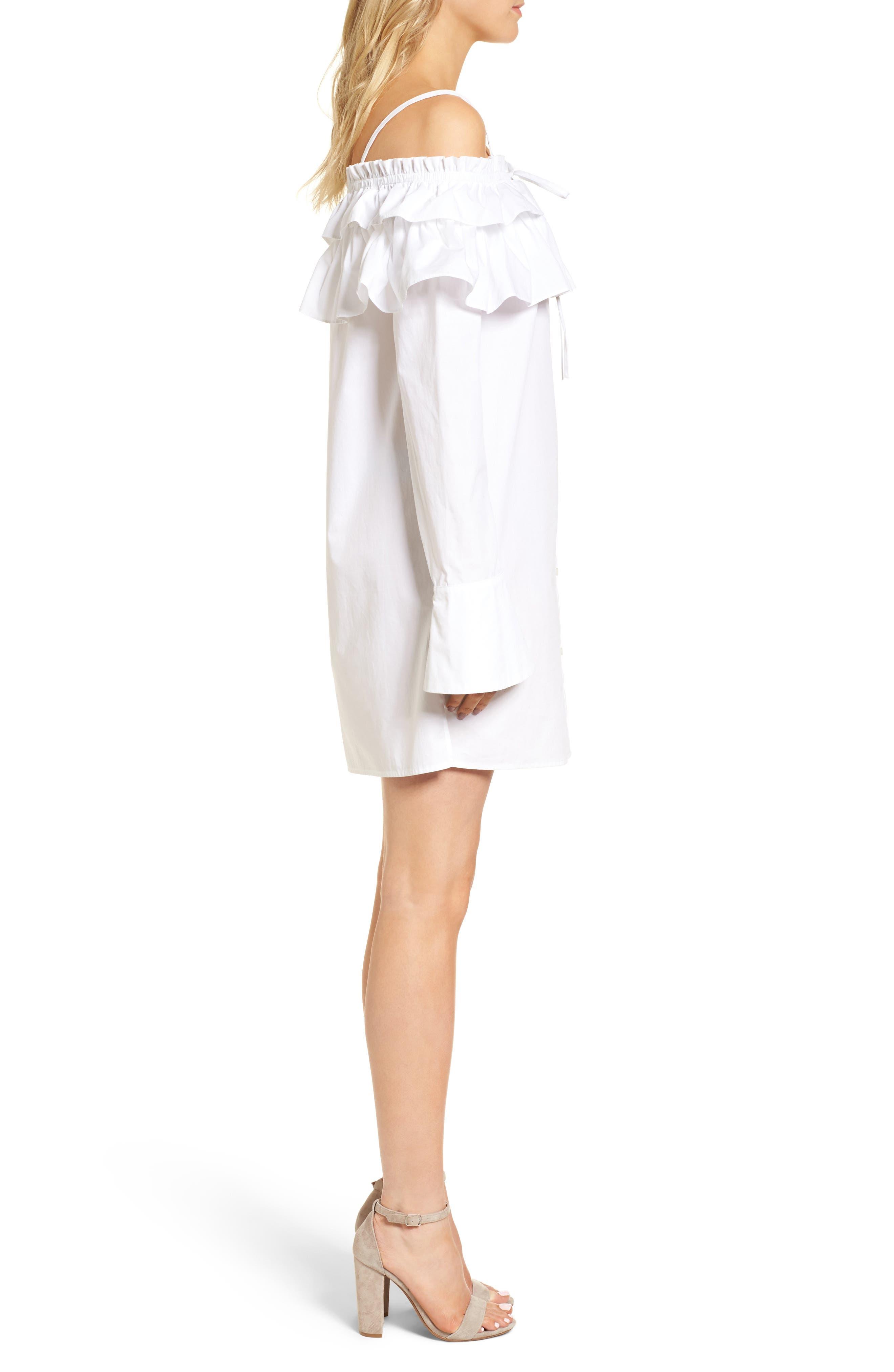 Alternate Image 3  - Rebecca Minkoff Pallas Off the Shoulder Dress