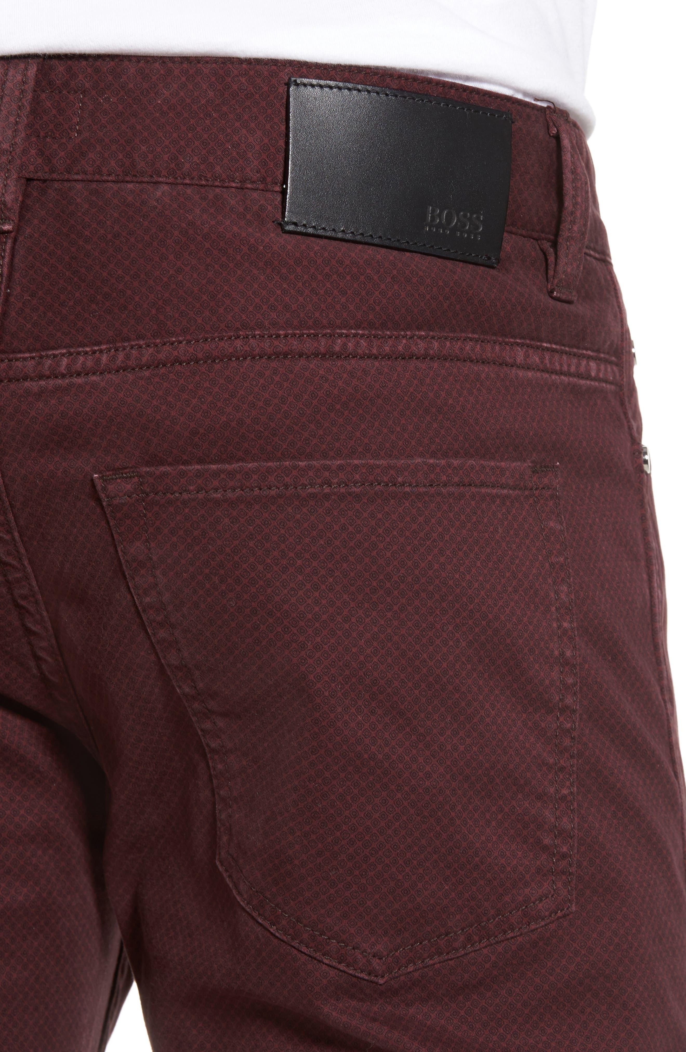 Alternate Image 4  - BOSS Delaware Slim Fit Pants