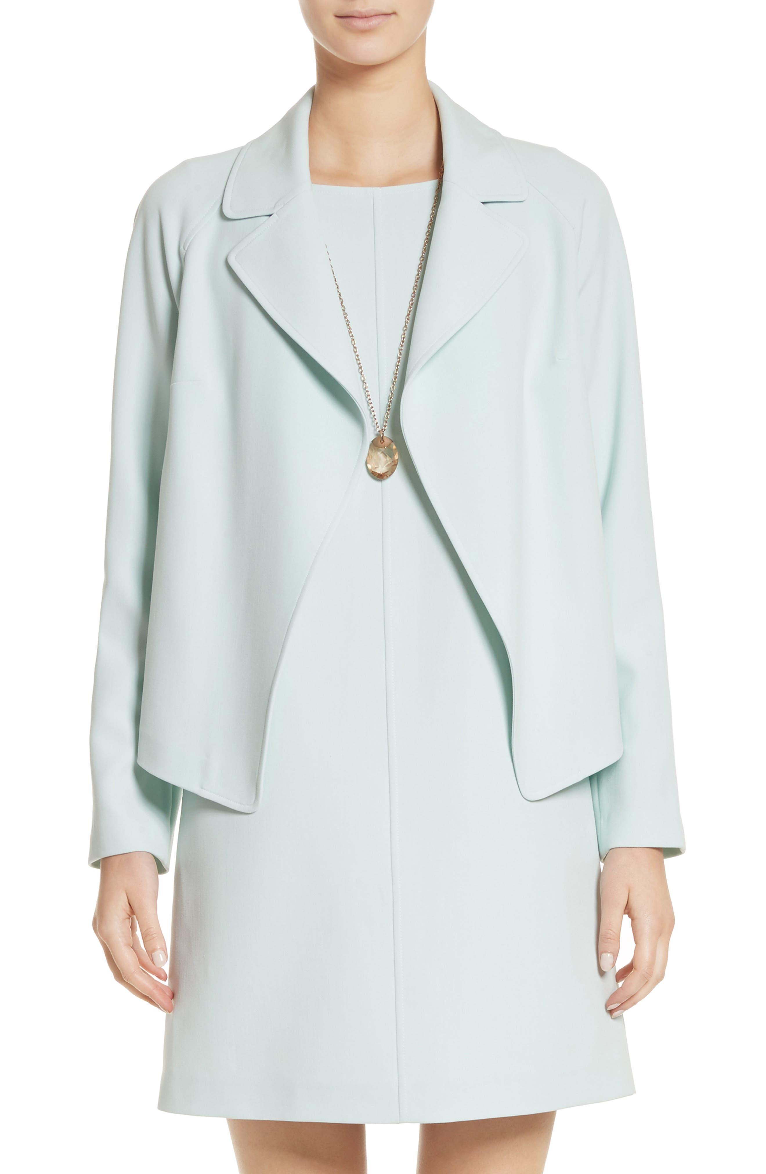 Bella Double Weave Jacket,                             Main thumbnail 1, color,                             Mint
