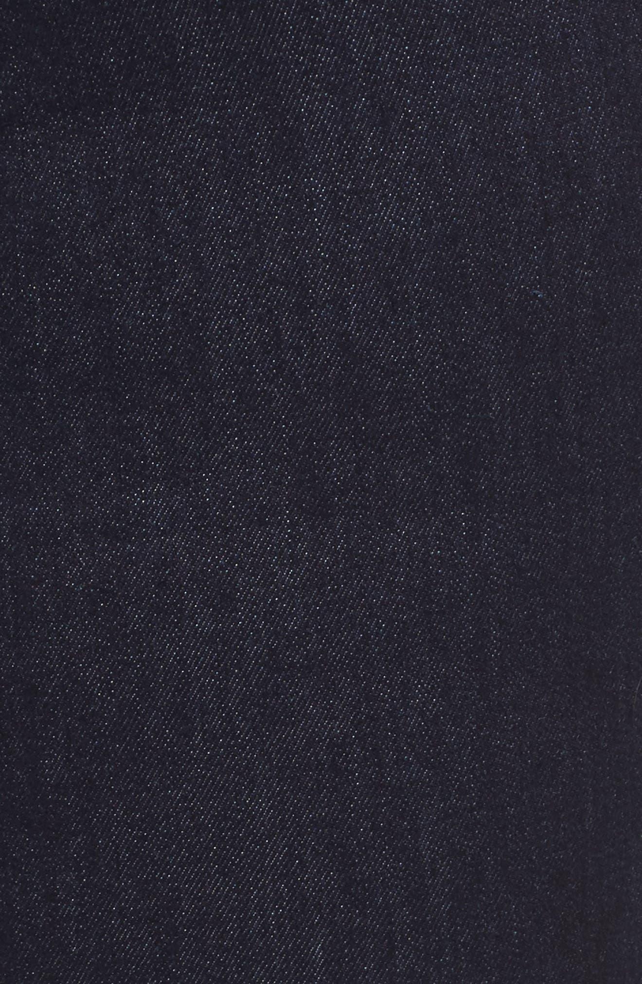 Alternate Image 5  - NYDJ Sheri Bling Hem Stretch Ankle Skinny Jeans (Plus Size)