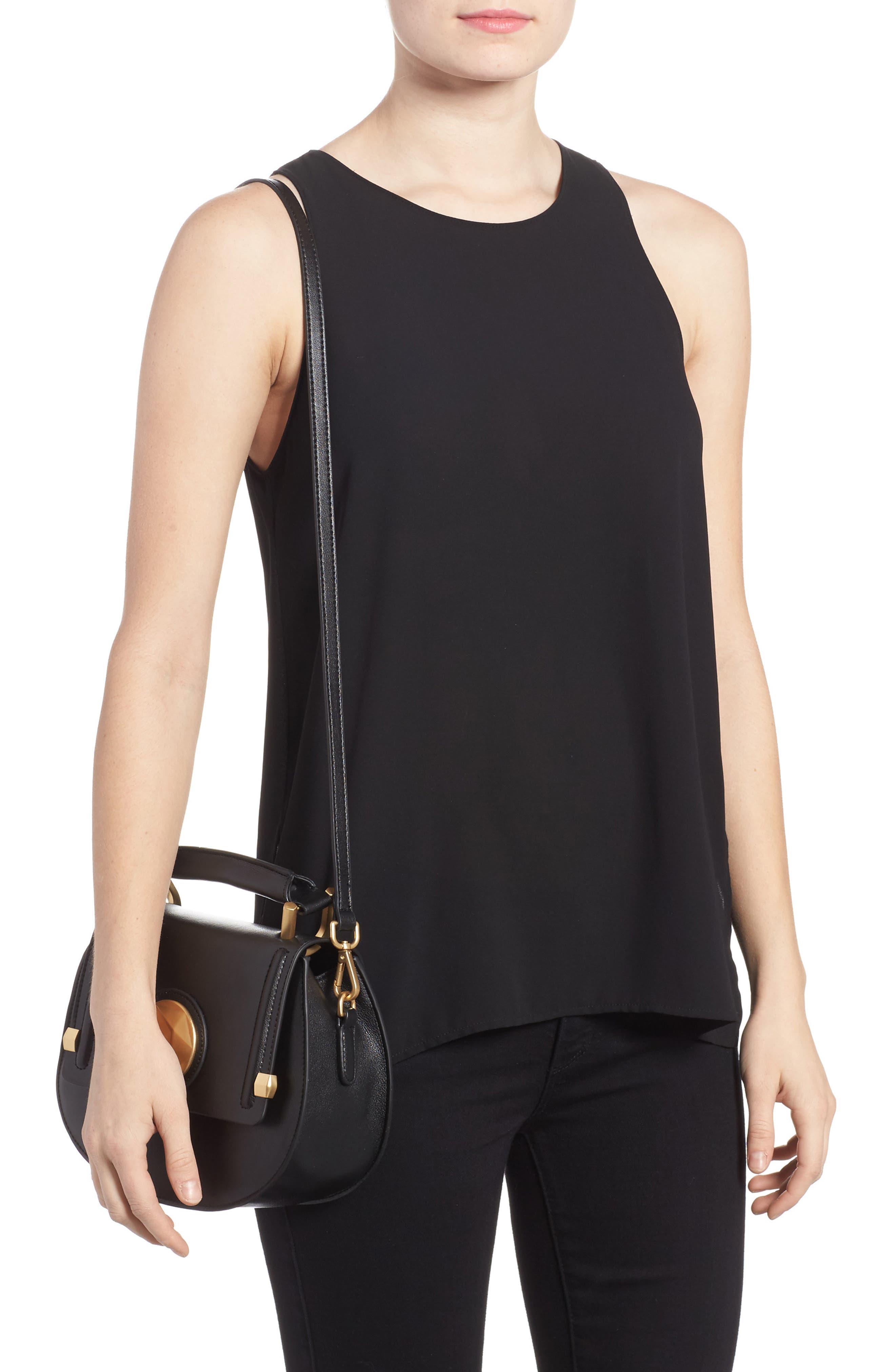 Alternate Image 2  - Céline Dion Octave Leather Top Handle Satchel