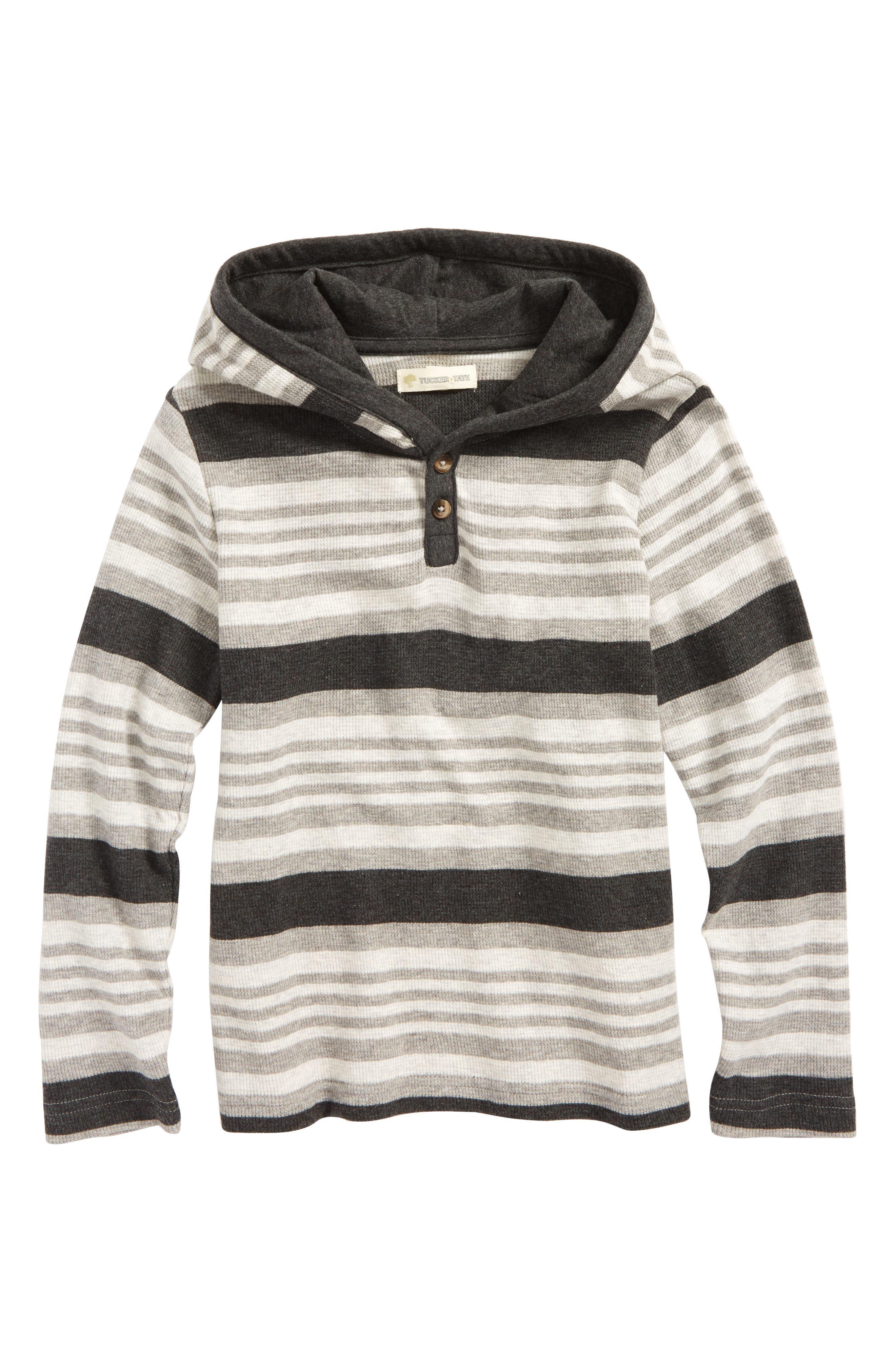 Tucker + Tate Hooded Thermal T-Shirt (Toddler Boys & Little Boys)