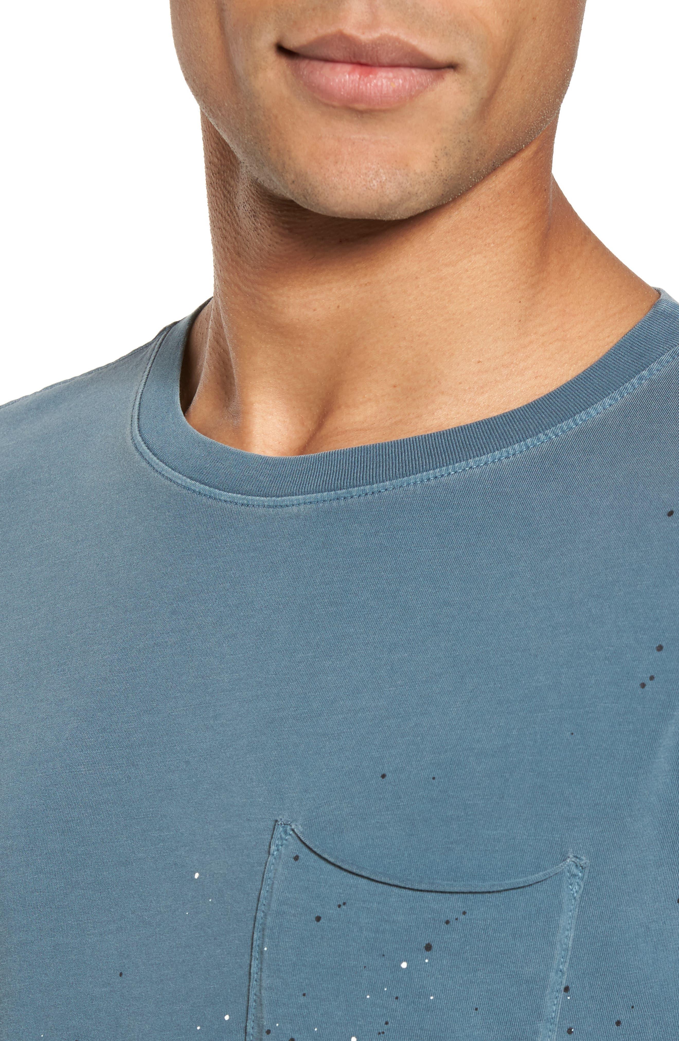 Alternate Image 4  - AG Anders Slim Fit Pocket T-Shirt