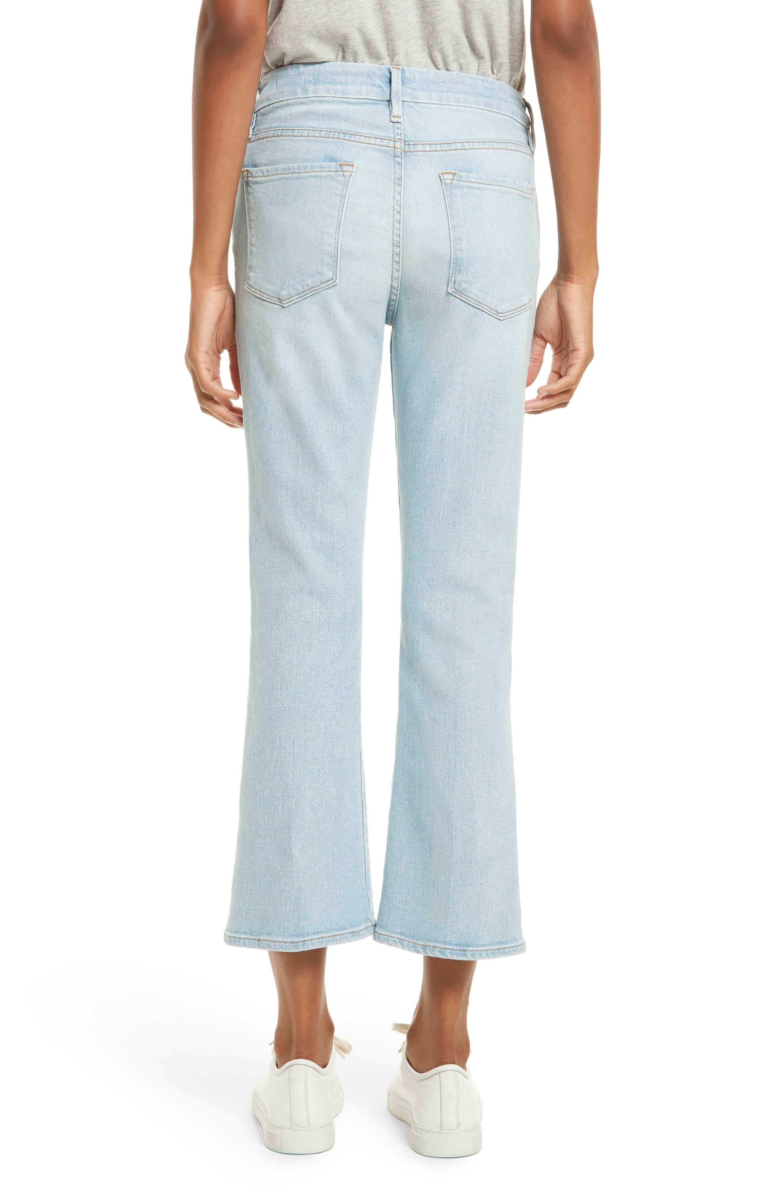Alternate Image 2  - FRAME Le Crop Mini Boot Jeans (Adeline)