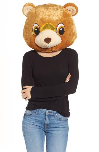Big Fat Head Bear Mascot Head