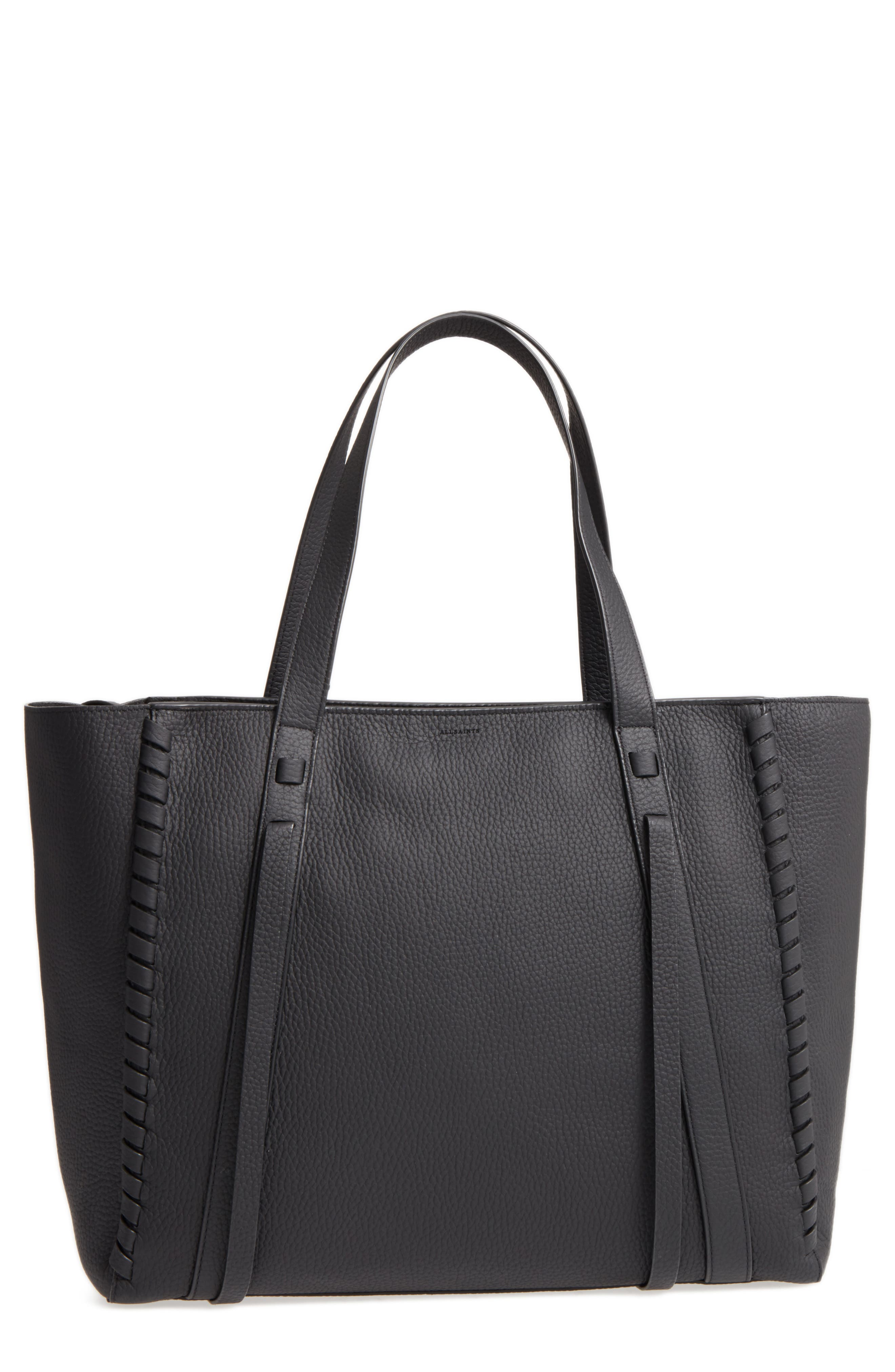 Alternate Image 1 Selected - ALLSAINTS Ray Nubuck Tote