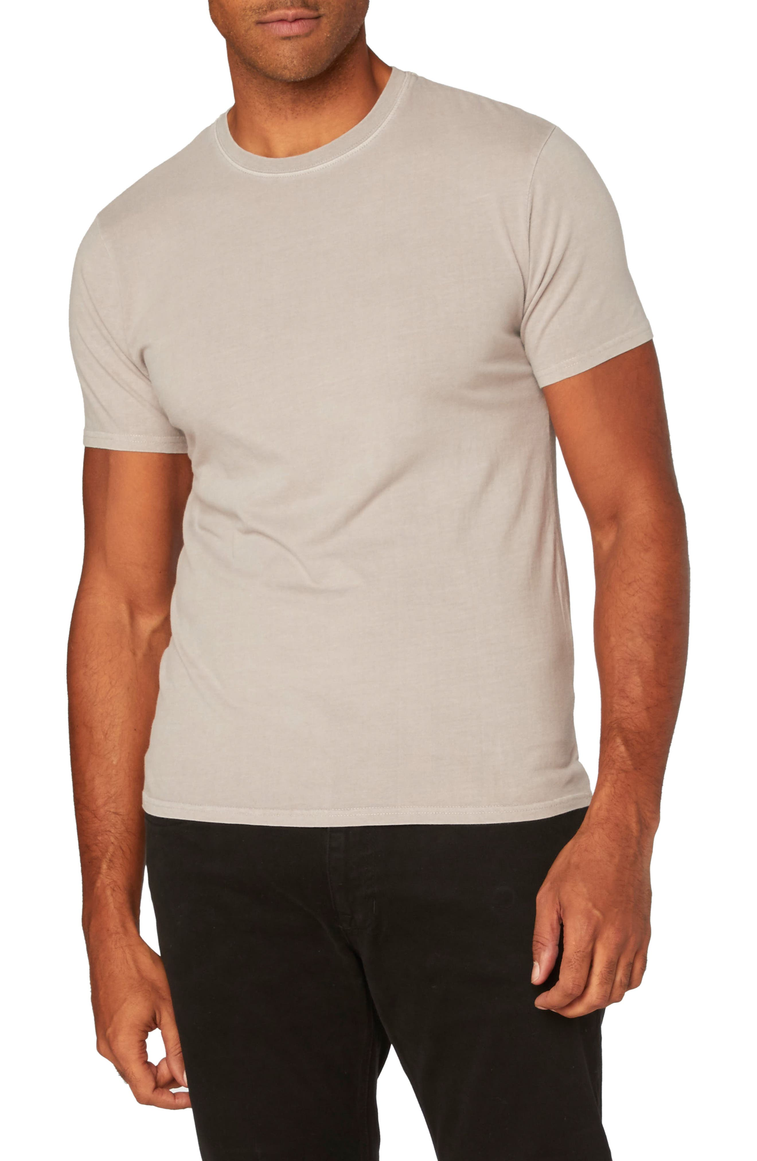 Standard Crew T-Shirt,                             Main thumbnail 1, color,                             Ashes Of Roses