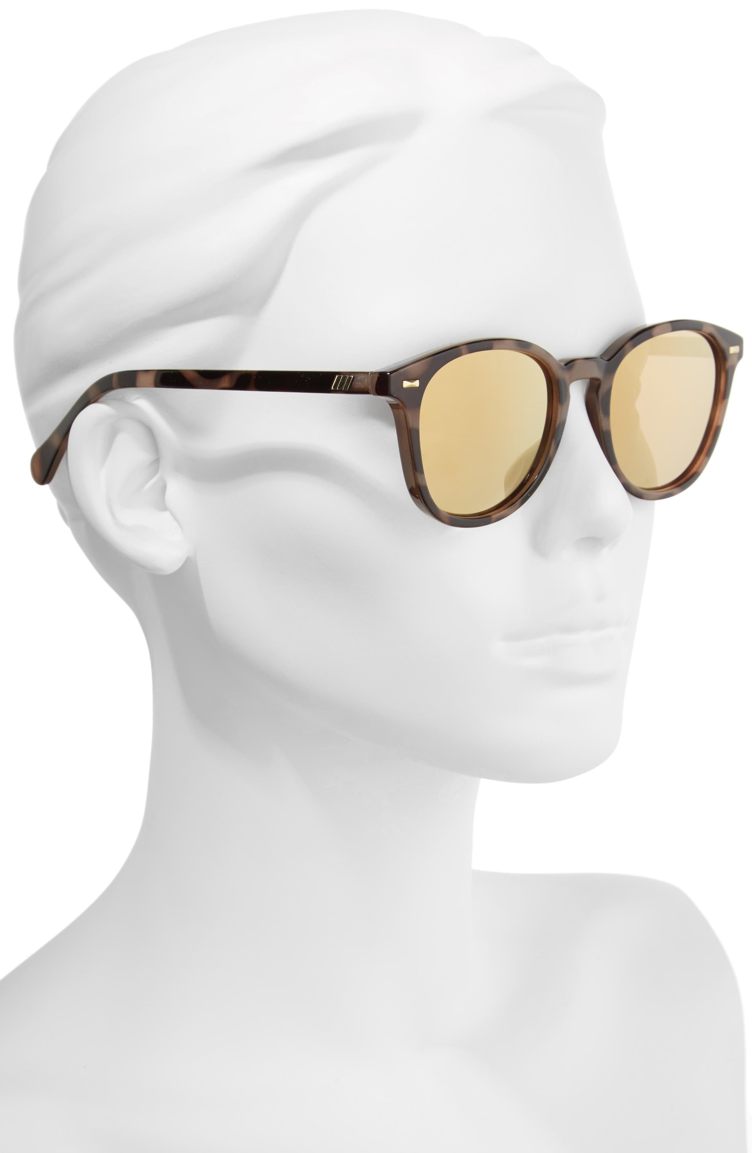 x Lumira Bandwagon 51mm Sunglasses & Candle Gift Set,                             Alternate thumbnail 3, color,                             Volcanic Tort