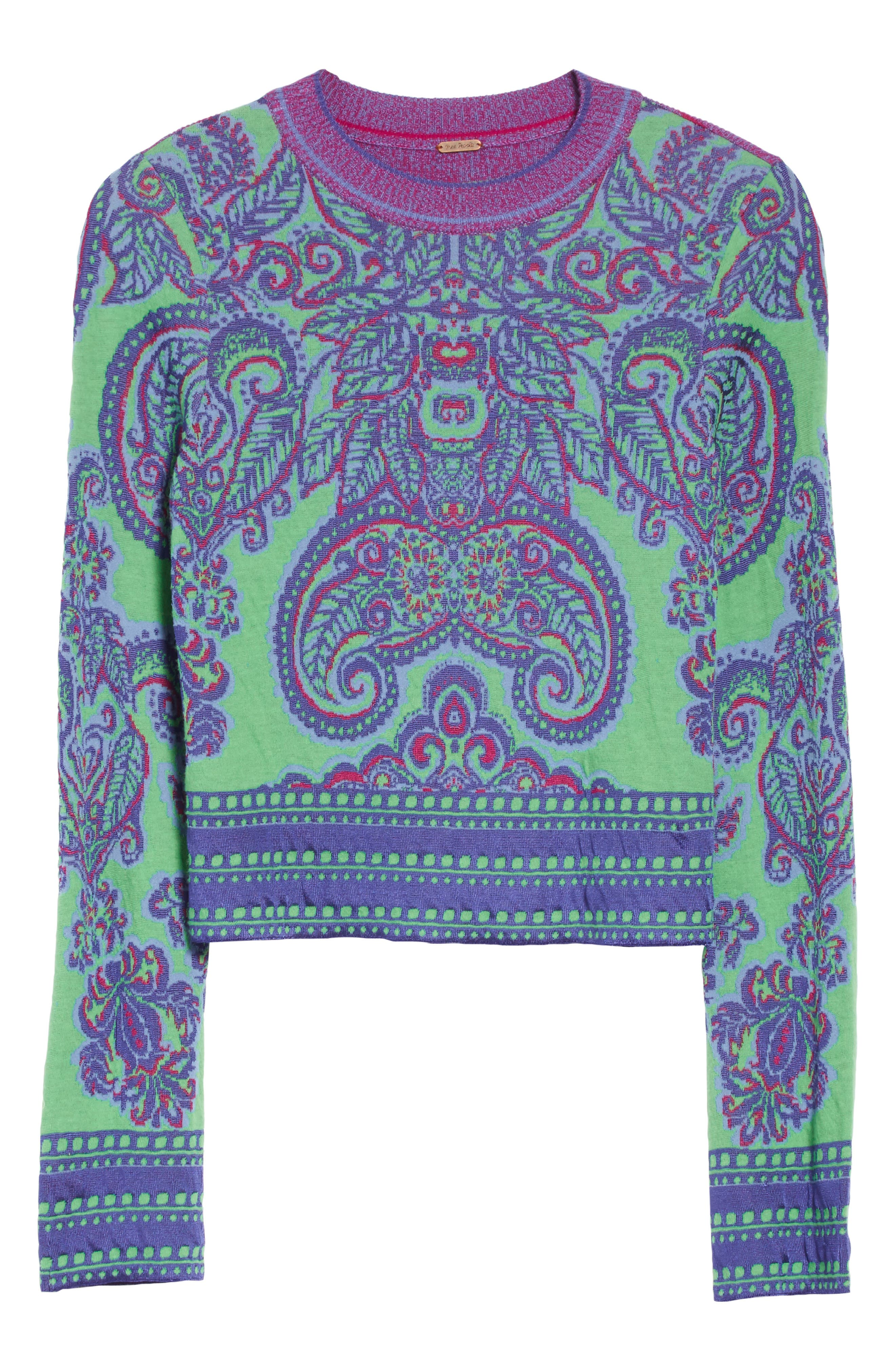 New Age Crewneck Sweater,                             Alternate thumbnail 7, color,                             Multi