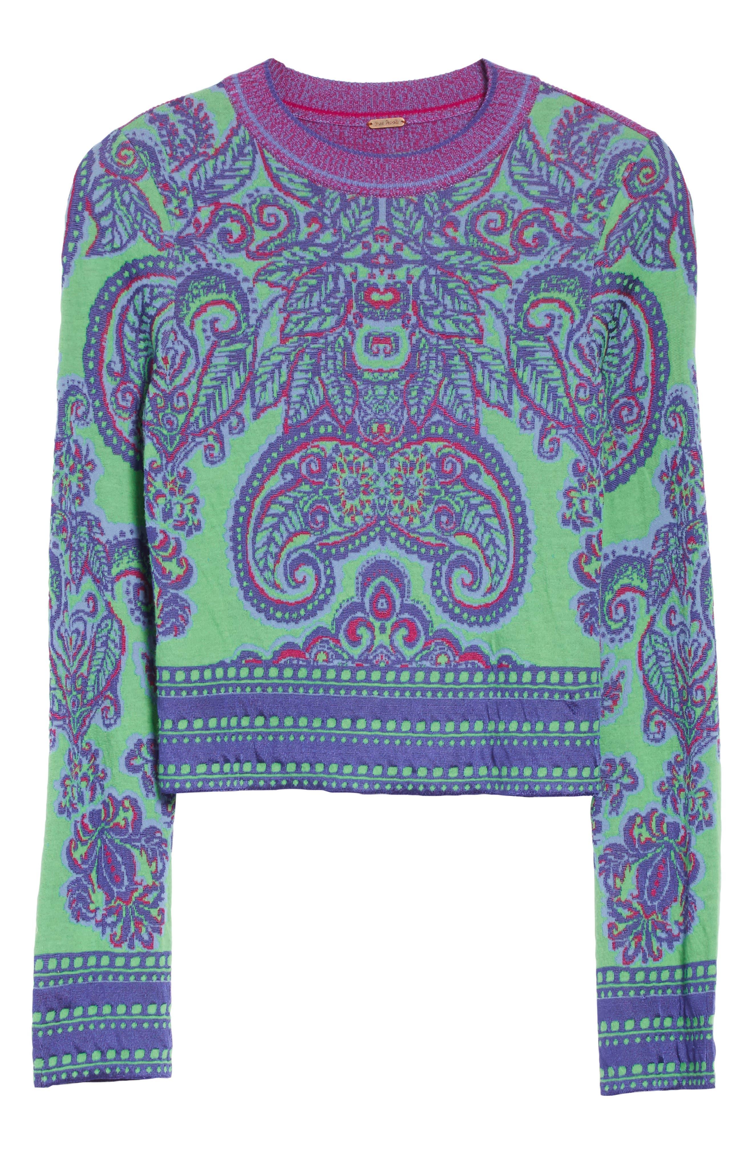 Alternate Image 6  - Free People New Age Crewneck Sweater