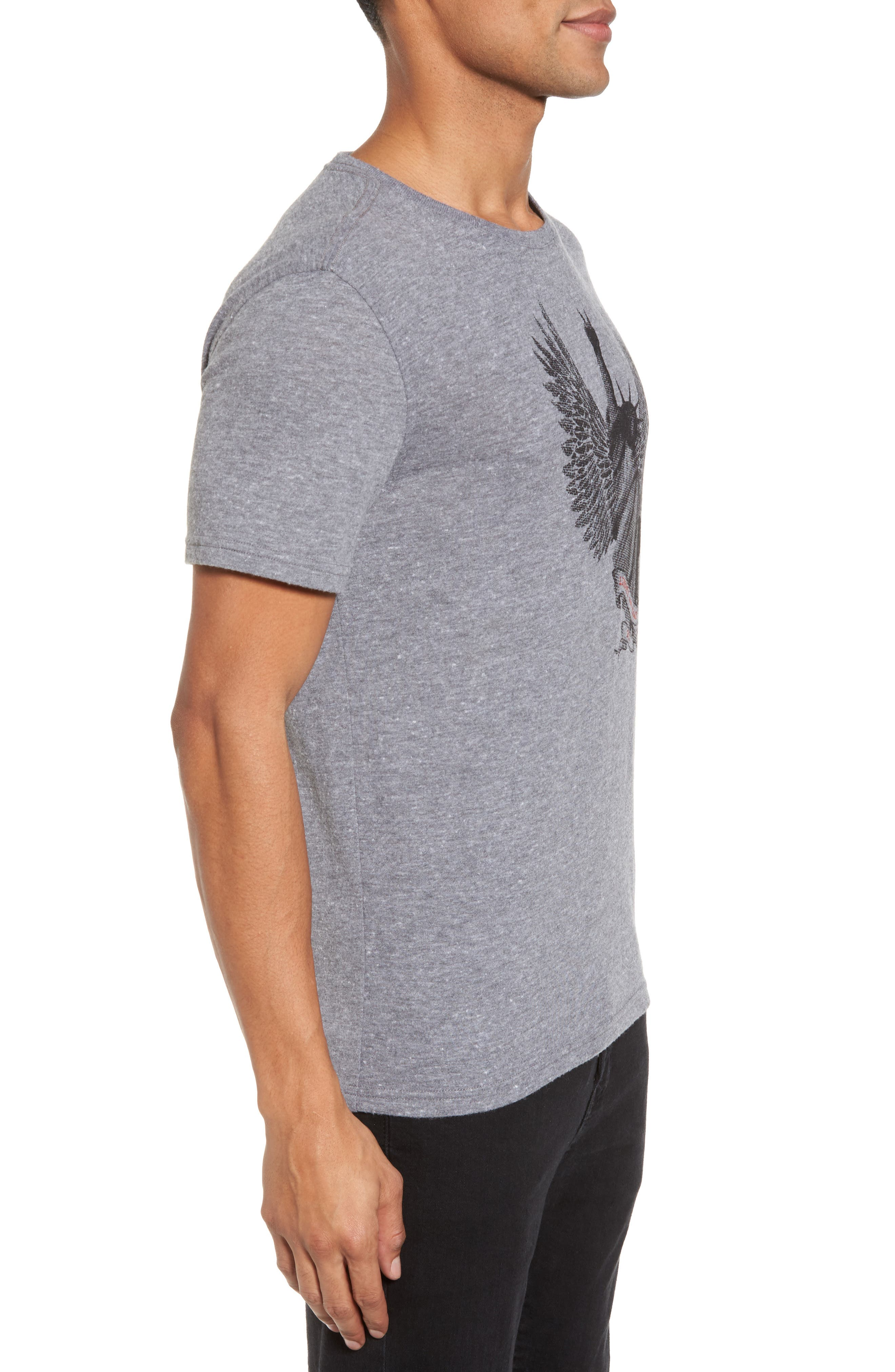 Alternate Image 3  - John Varvatos Star USA Liberty Wings Graphic T-Shirt