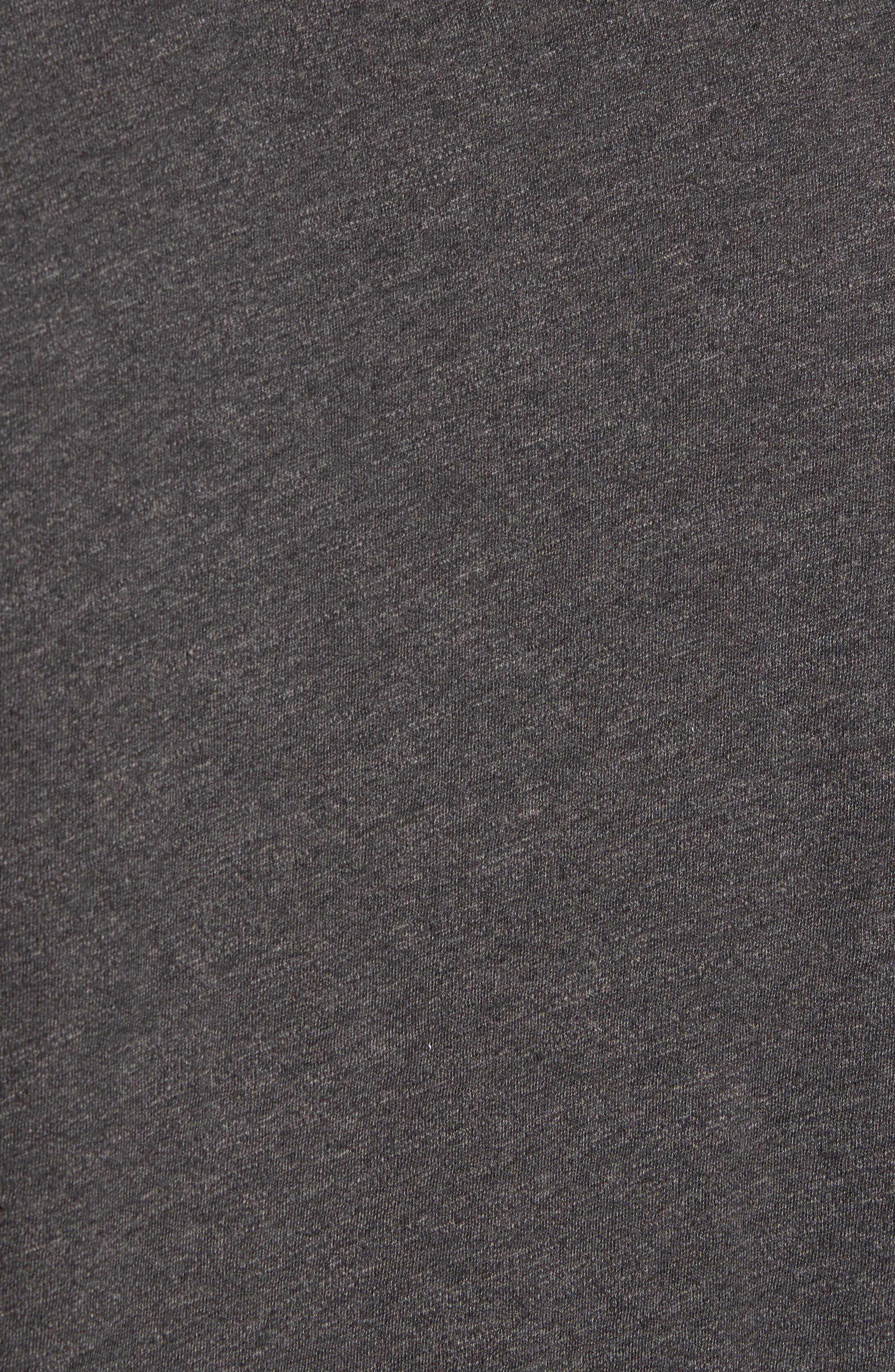Long Sleeve Polo,                             Alternate thumbnail 5, color,                             Grey Phantom