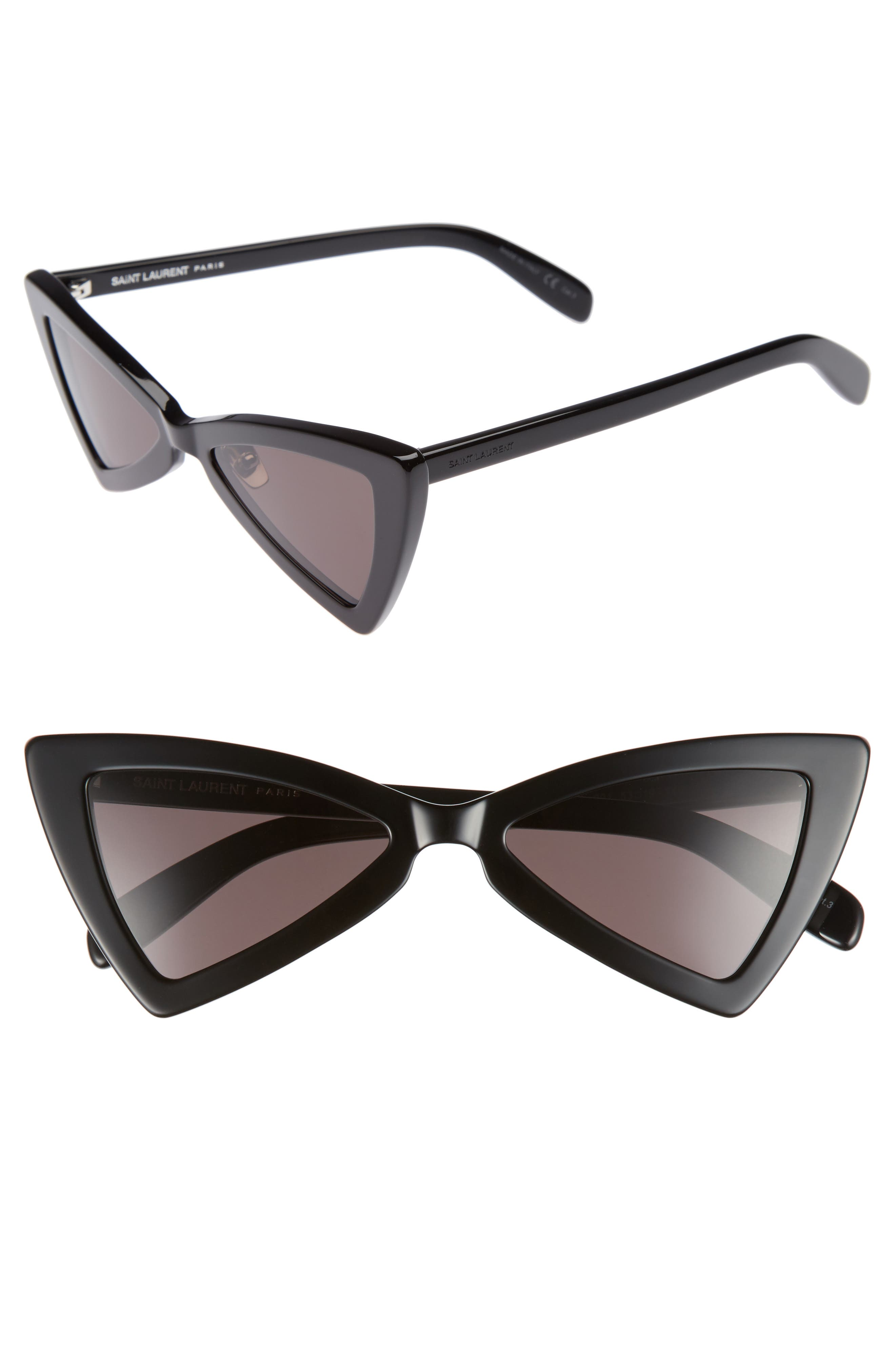 Jerry 53mm Sunglasses,                         Main,                         color, Black