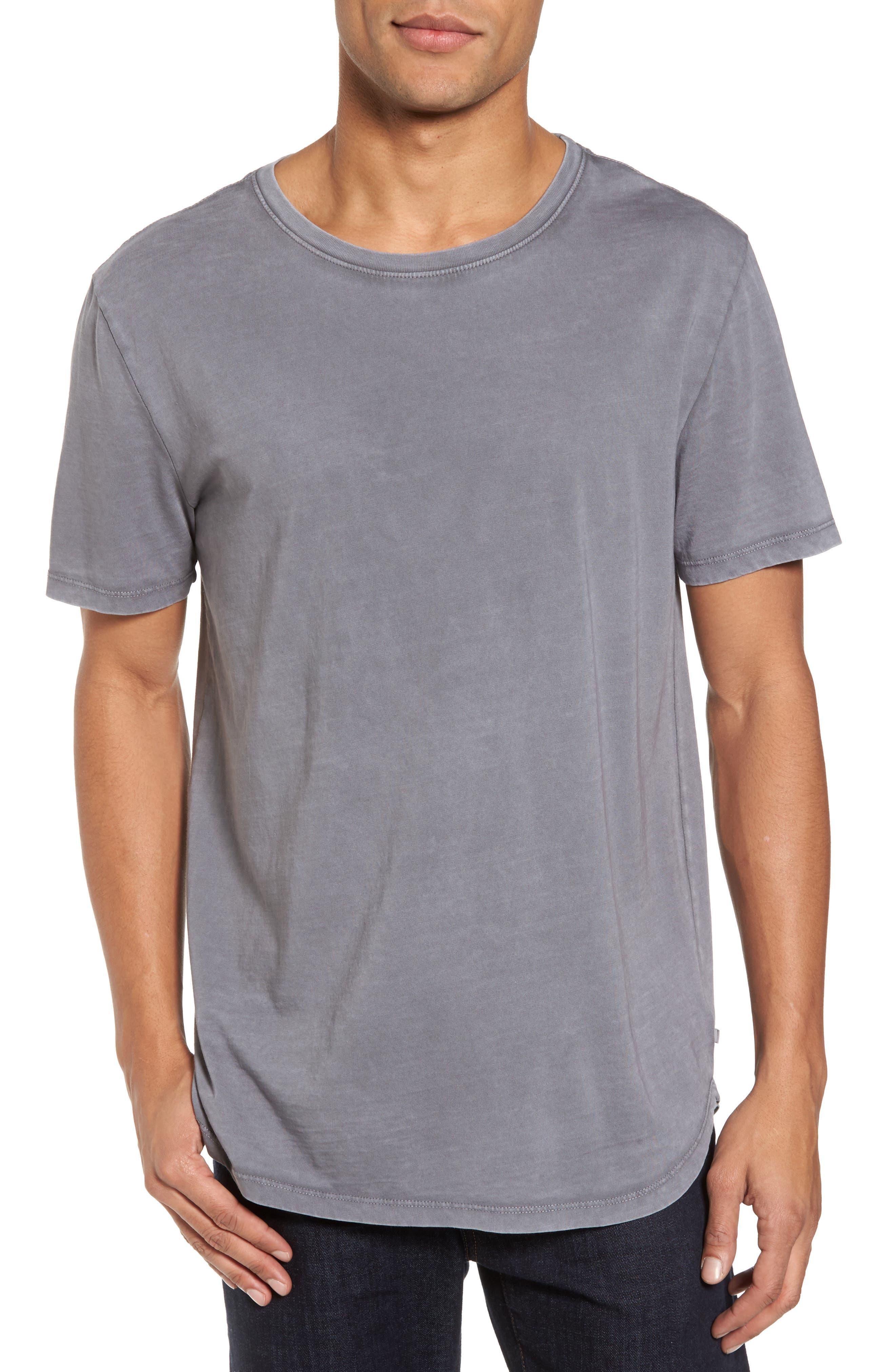Bradley Longline T-Shirt,                         Main,                         color, Sunbaked Field Stone