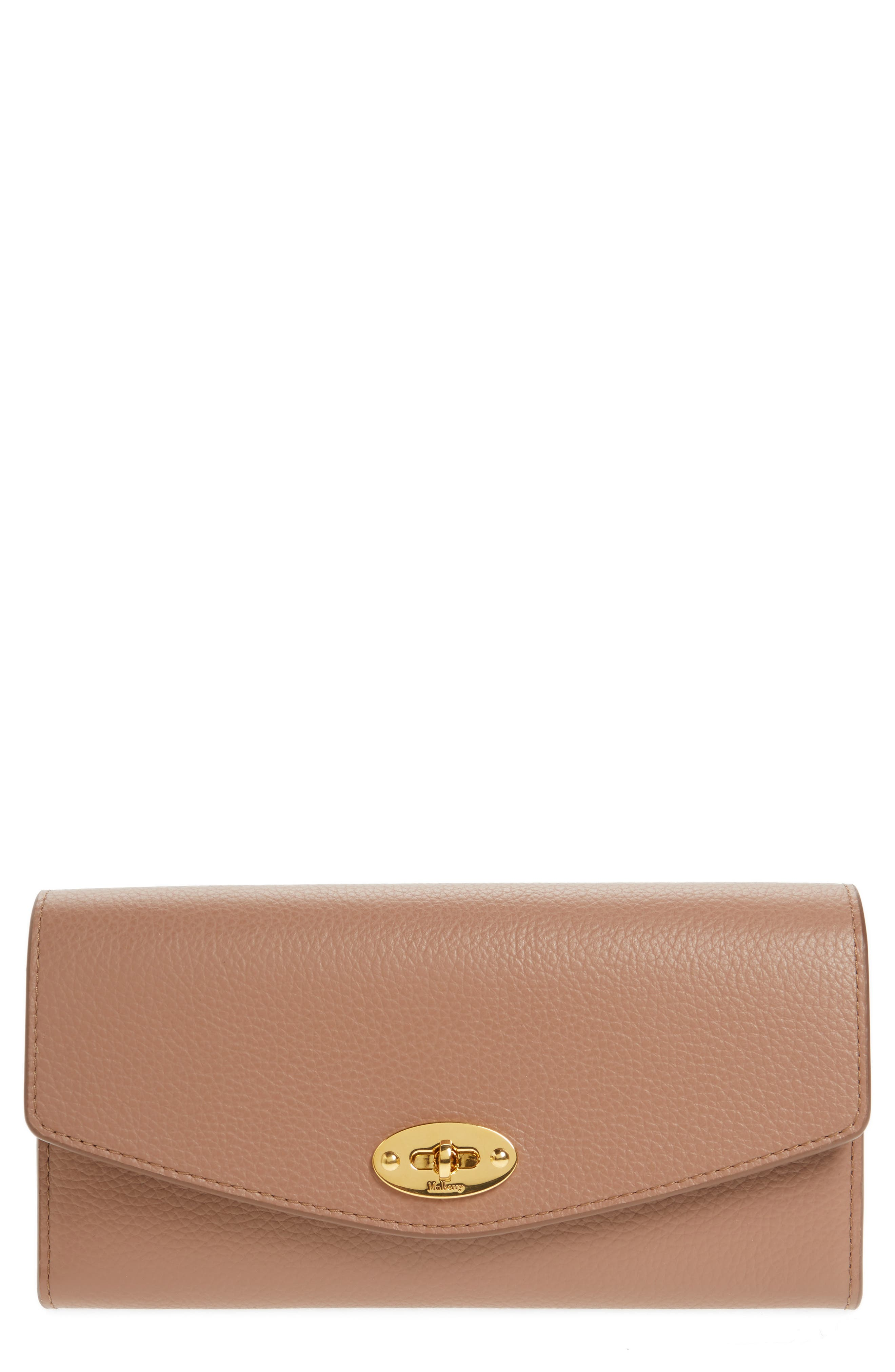 Alternate Image 1 Selected - Mulberry Darley Continental Leather Wallet