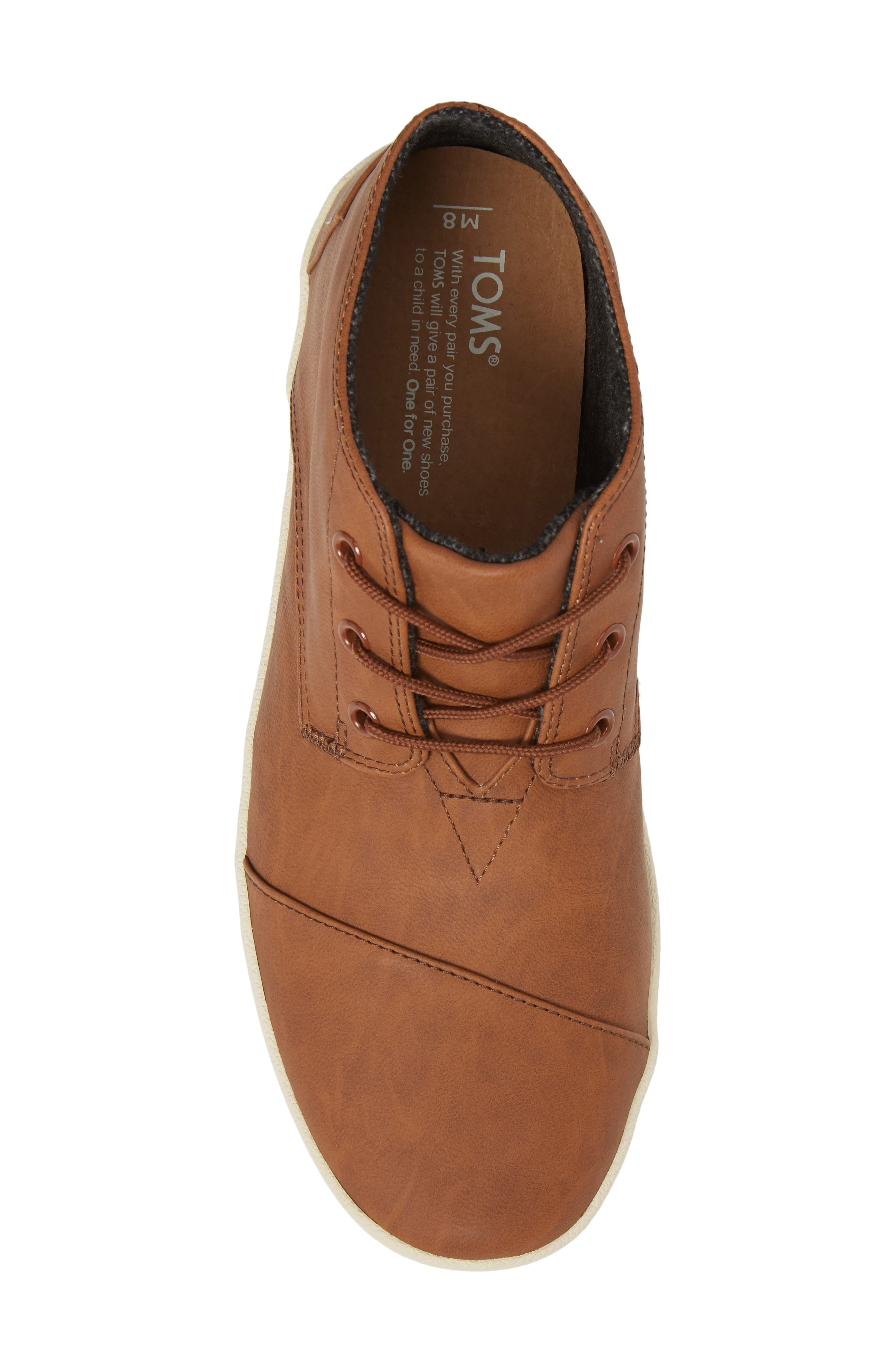 Paseo Mid Sneaker,                             Alternate thumbnail 5, color,                             Dark Earth Brown