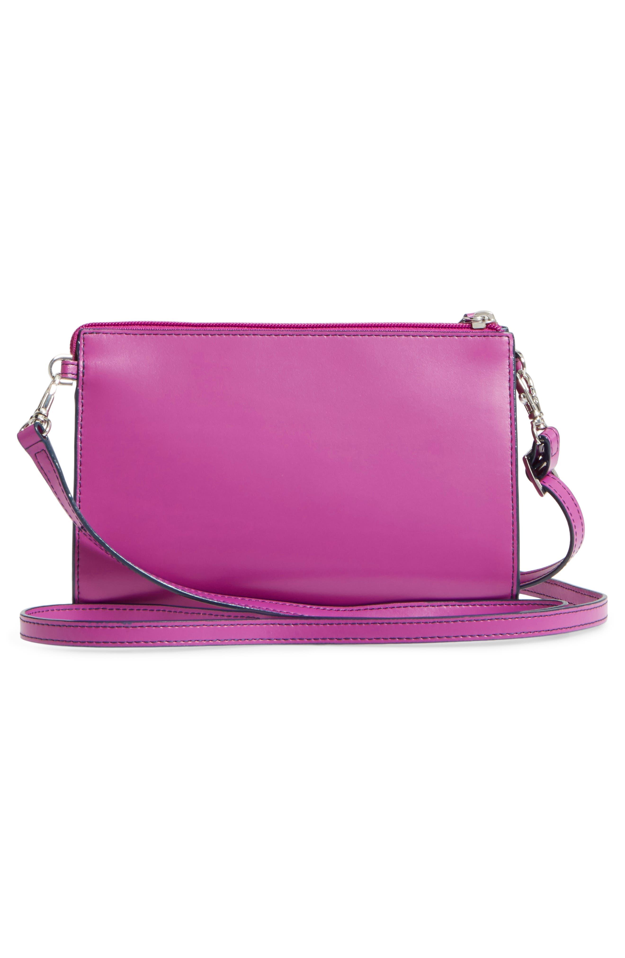 Alternate Image 3  - LODIS Audrey Under Lock & Key Vicky Convertible Leather Crossbody Bag
