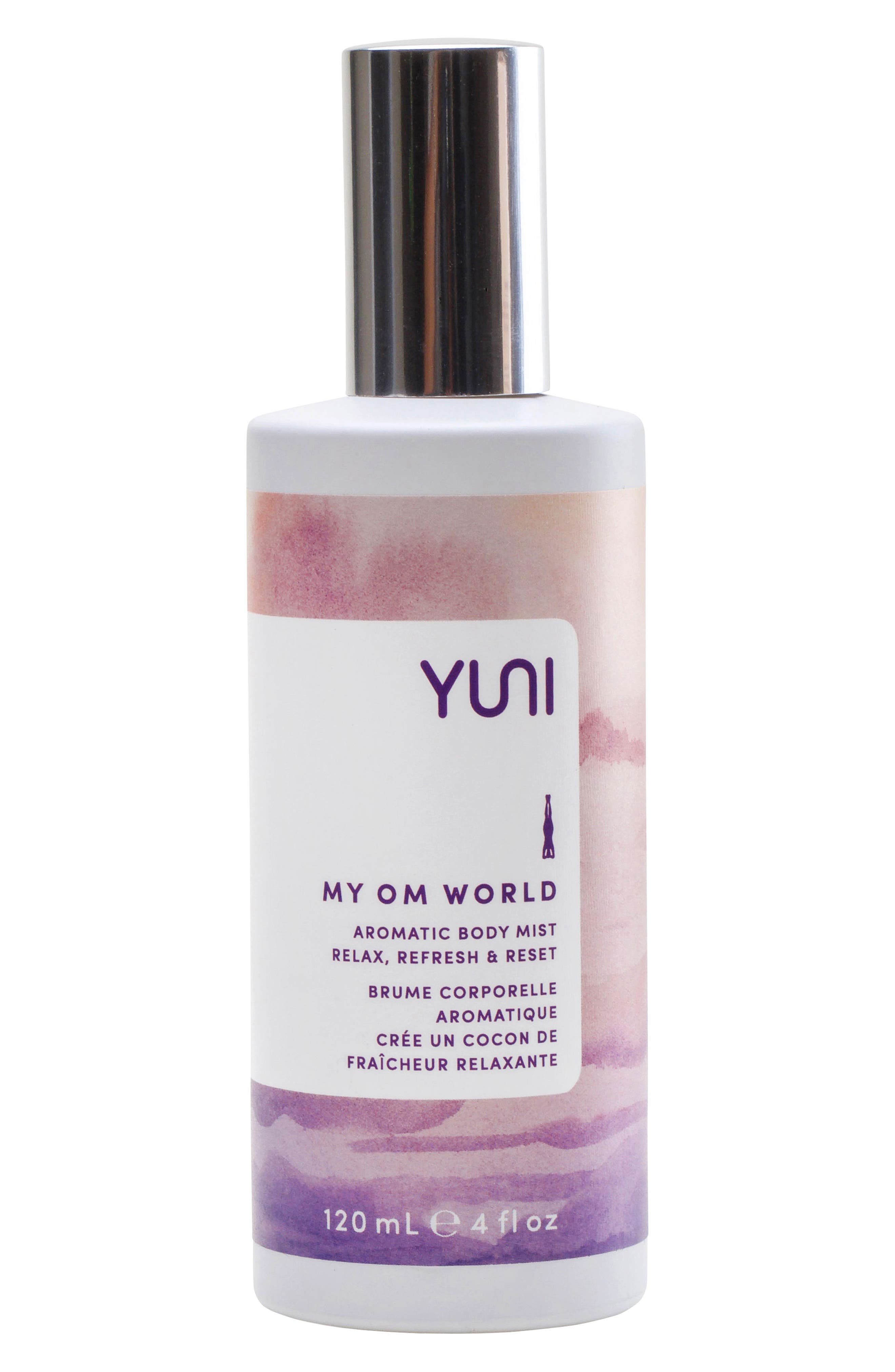 My Om World Aromatic Body Mist,                             Main thumbnail 1, color,                             No Color