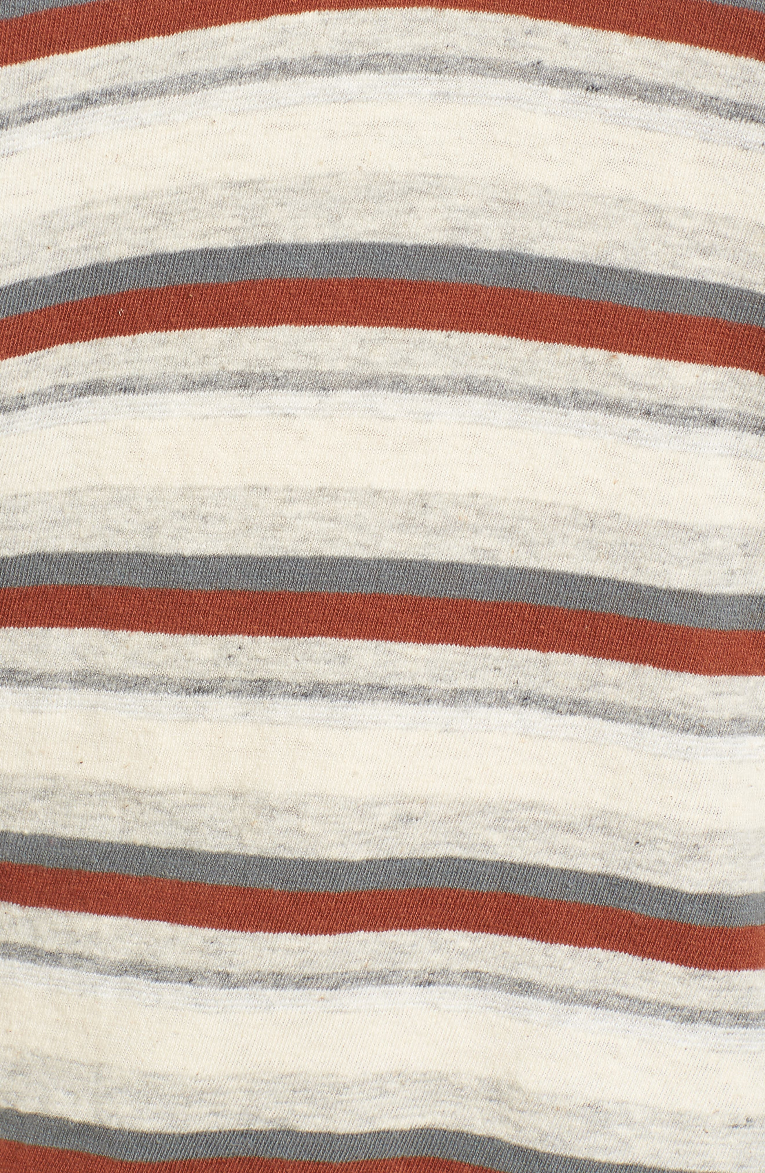 Alternate Image 5  - James Perse Stripe Tee