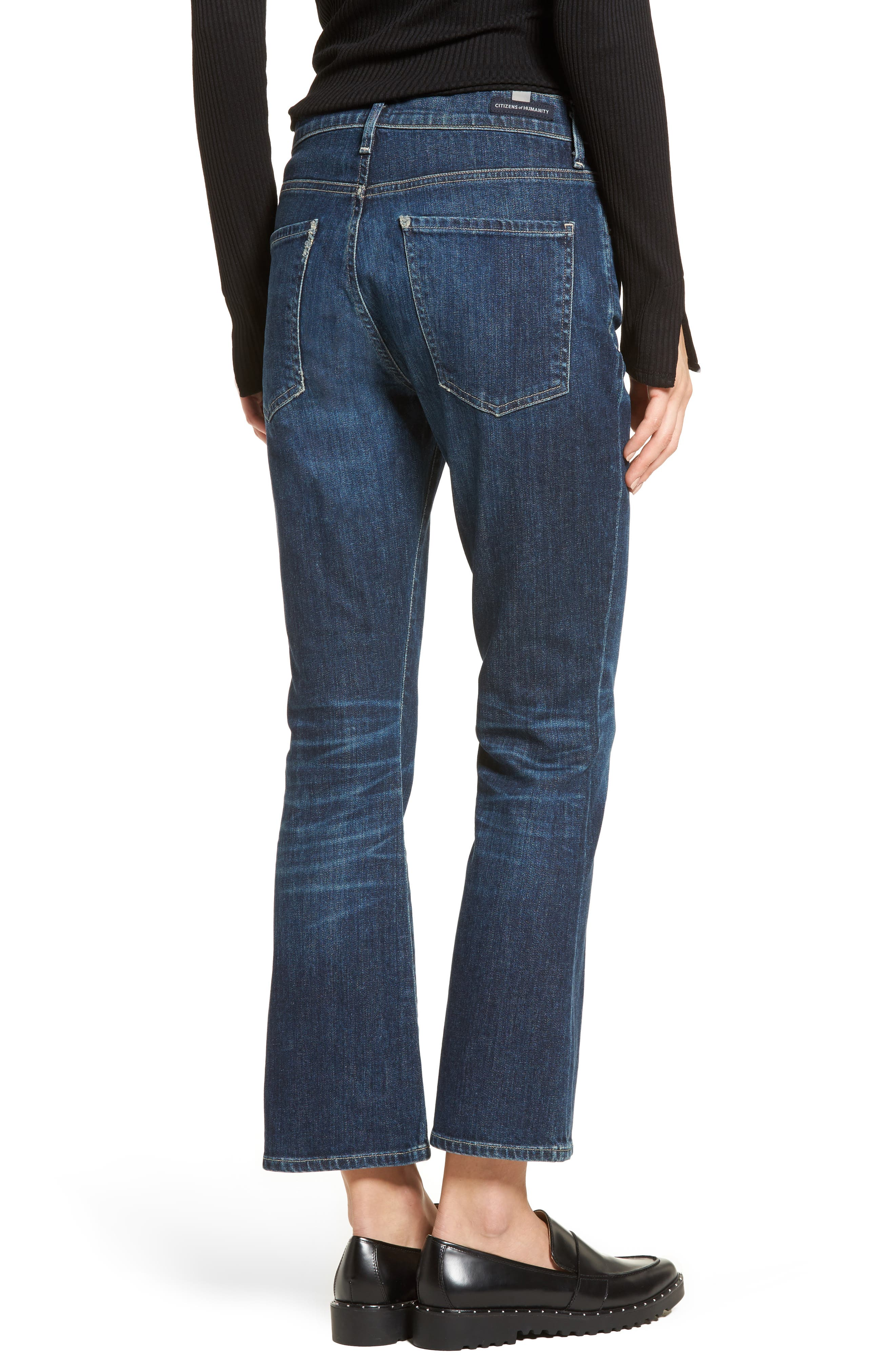 Alternate Image 2  - Citizens of Humanity Fleetwood Crop Flare Jeans (Sonora)