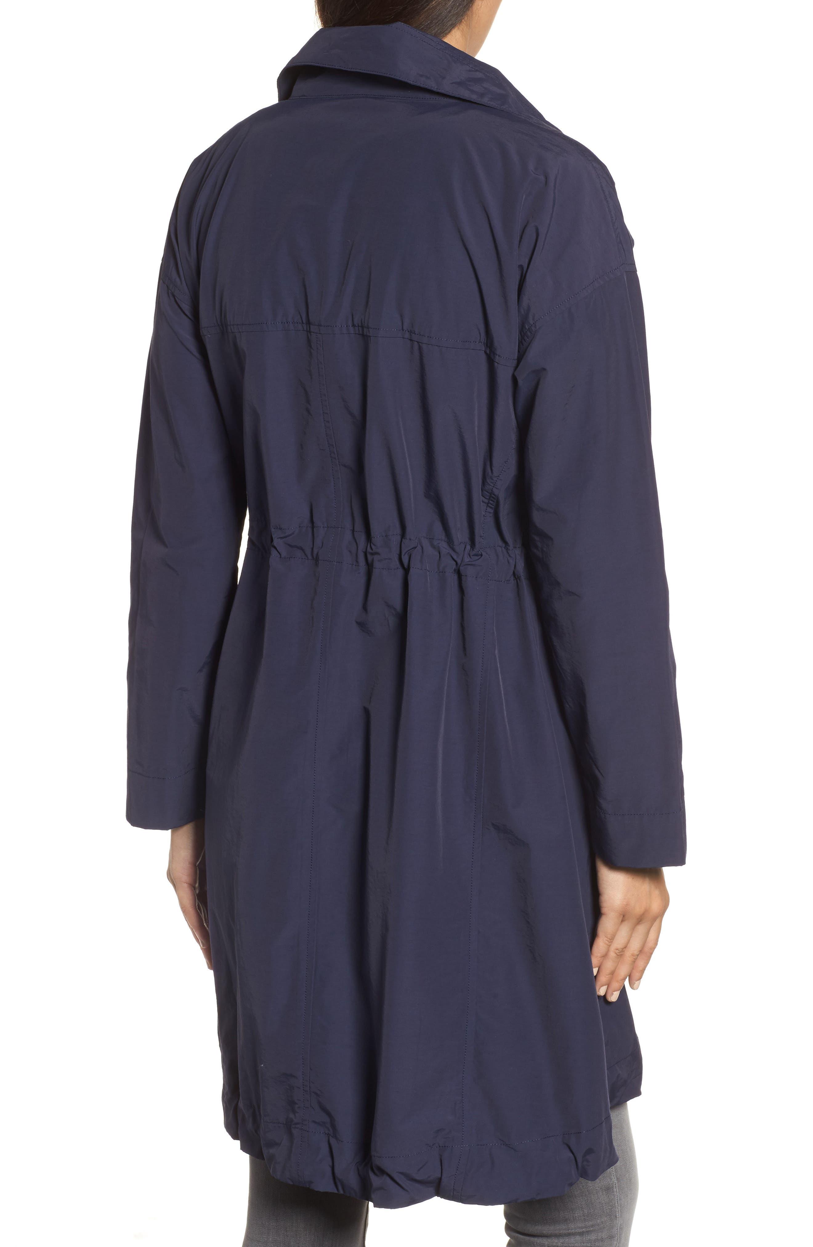 Alternate Image 2  - Eileen Fisher High Collar Long Jacket