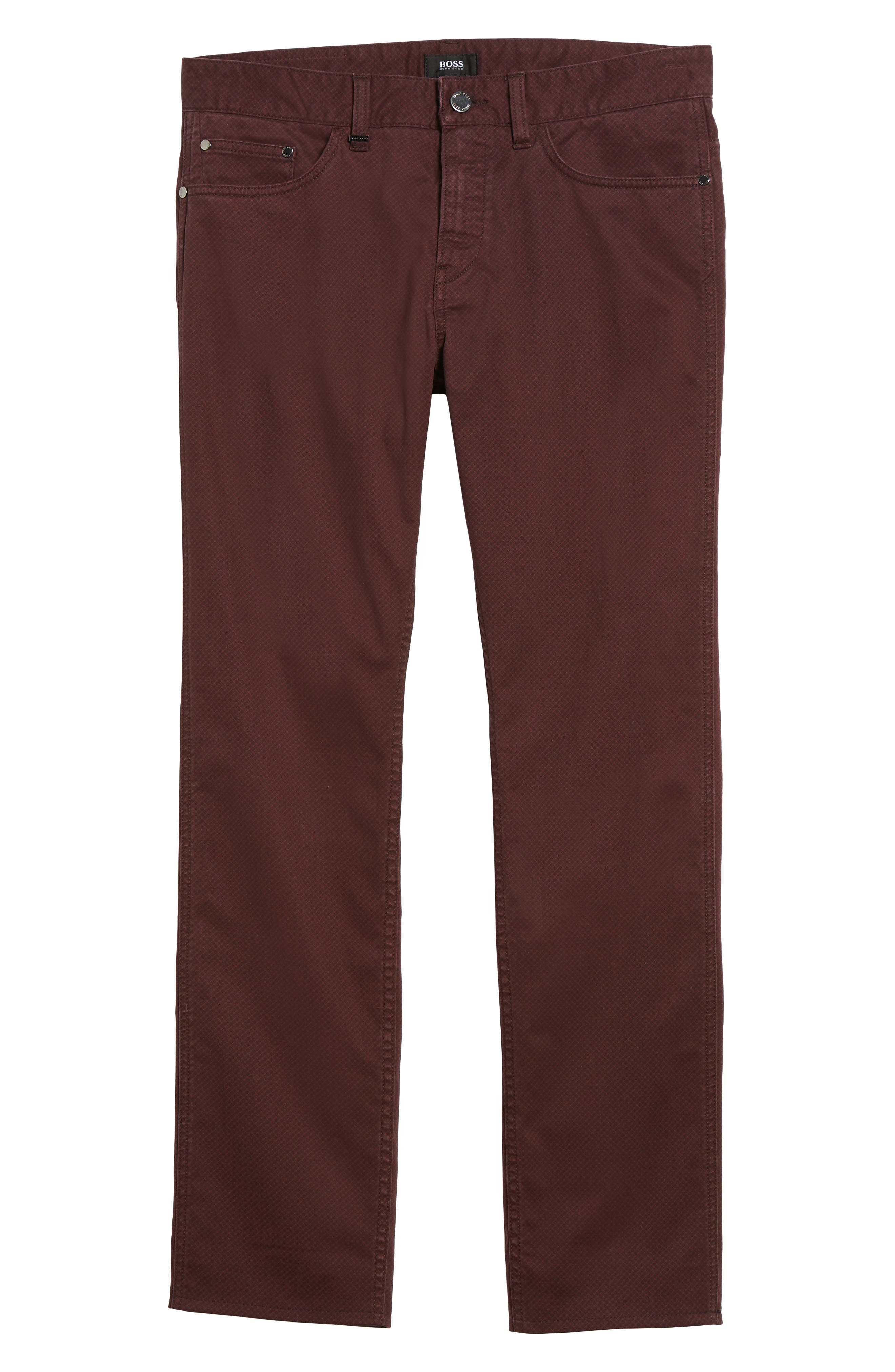 Alternate Image 6  - BOSS Delaware Slim Fit Pants