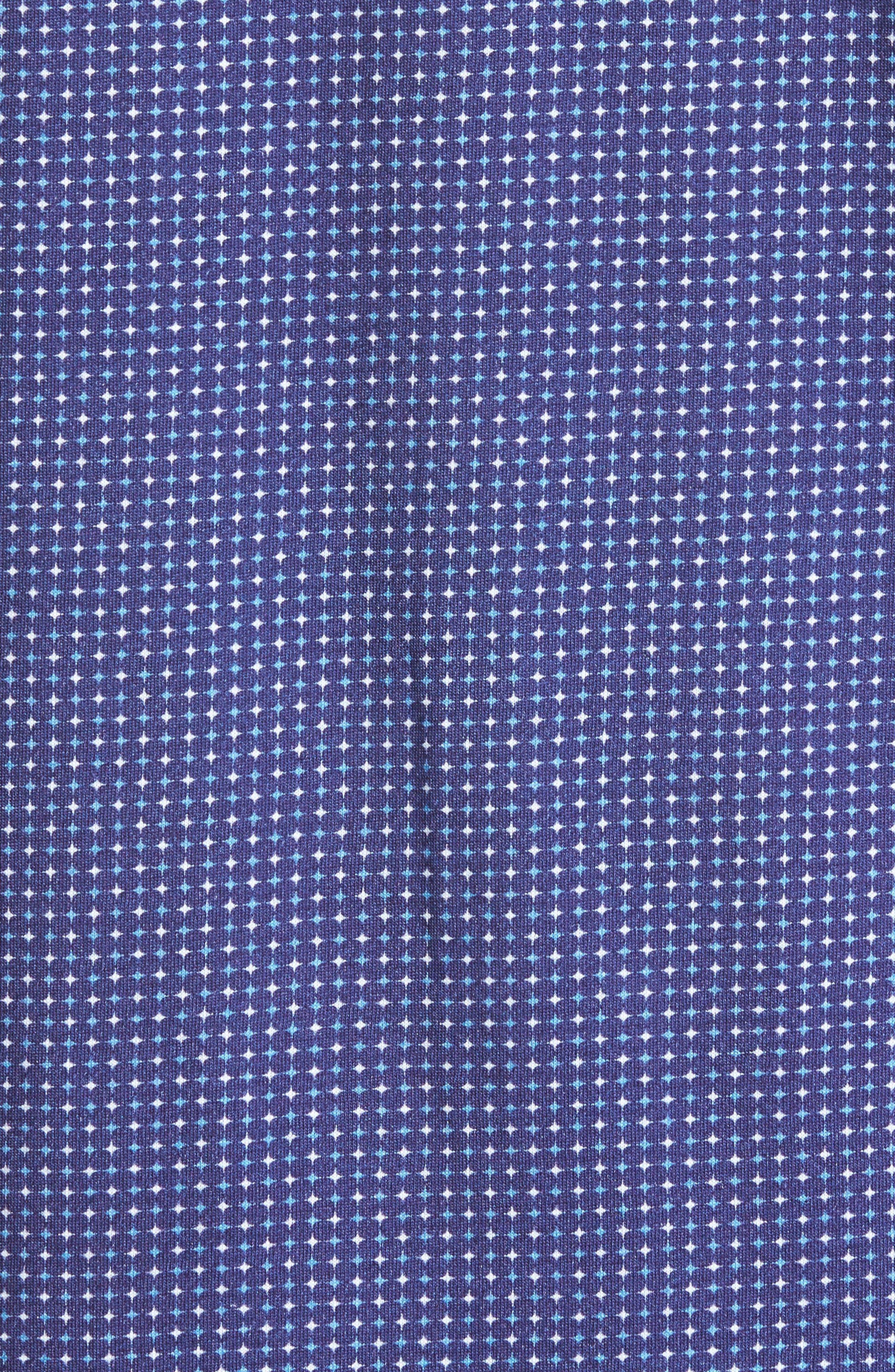 Alternate Image 5  - Stone Rose Star Geo Print Jersey Sport Shirt