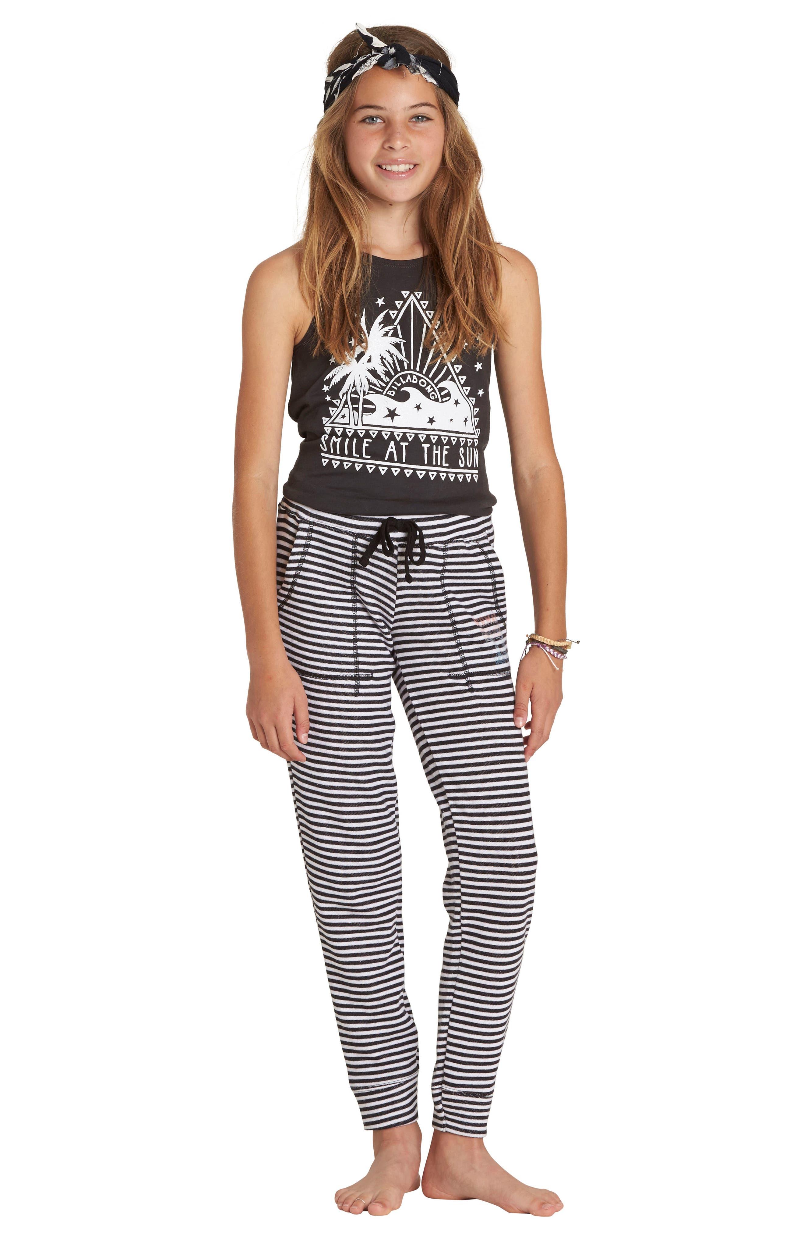 Alternate Image 3  - Billabong Safe Love Knit Pants (Little Girls & Big Girls)