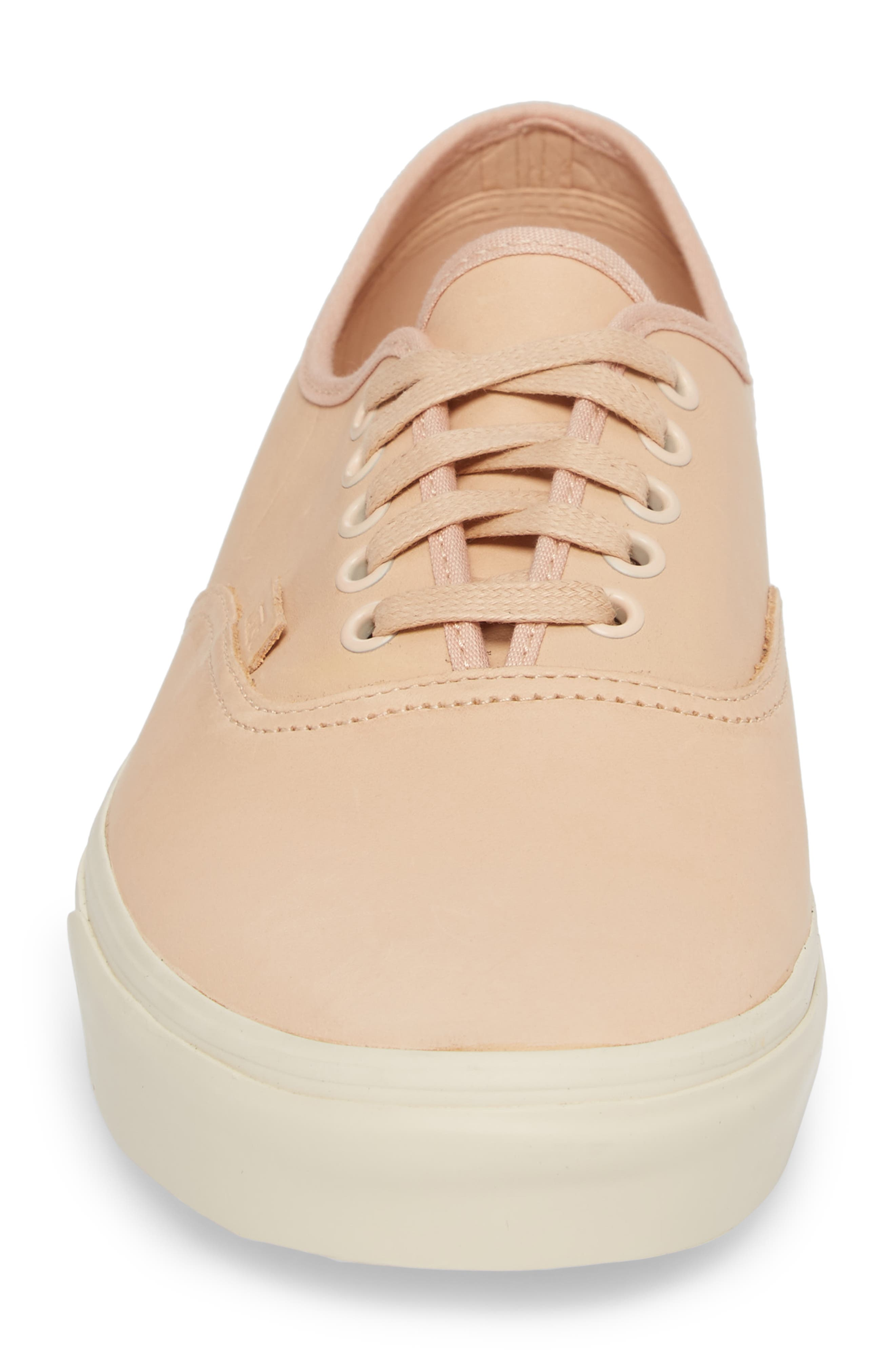 Authentic DX Sneaker,                             Alternate thumbnail 4, color,                             Veggie Tan Leather