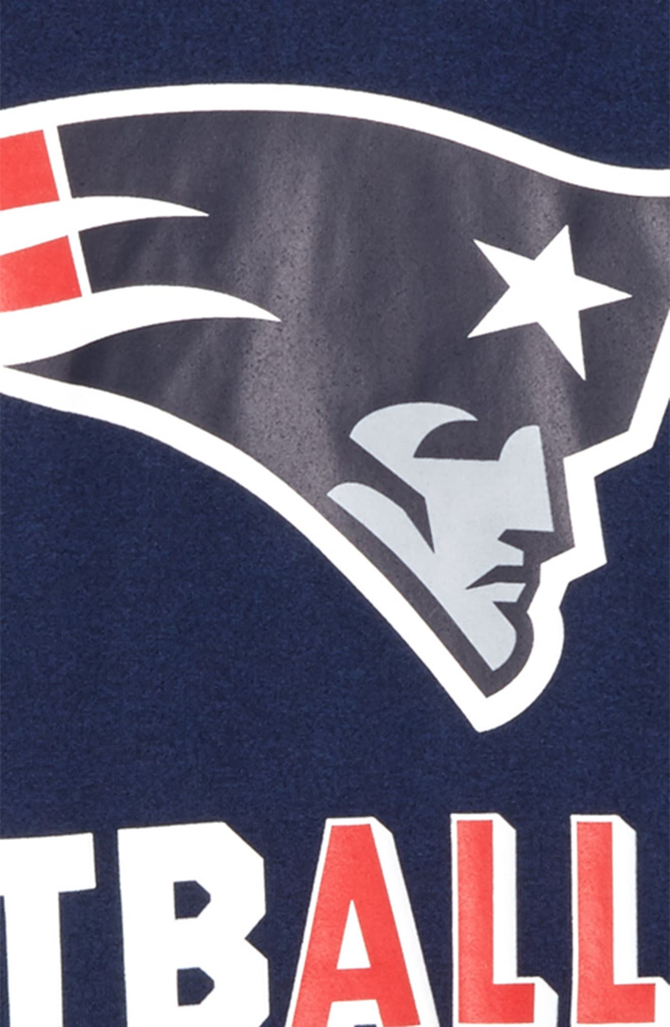 Nike NFL - New England Patriots Dry T-Shirt,                             Alternate thumbnail 2, color,                             College Navy