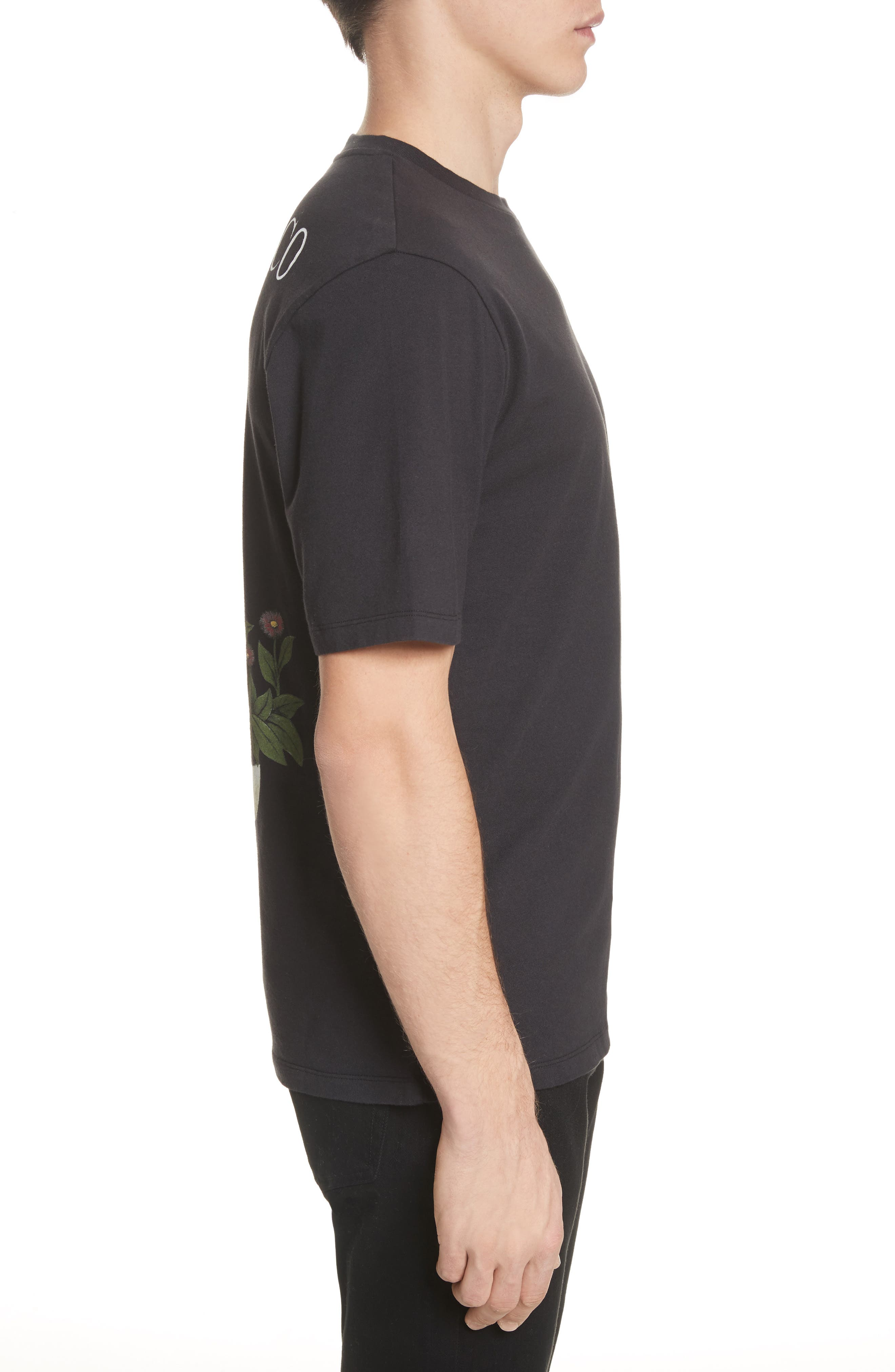 Loewe & Co. Graphic T-Shirt,                             Alternate thumbnail 3, color,                             Black