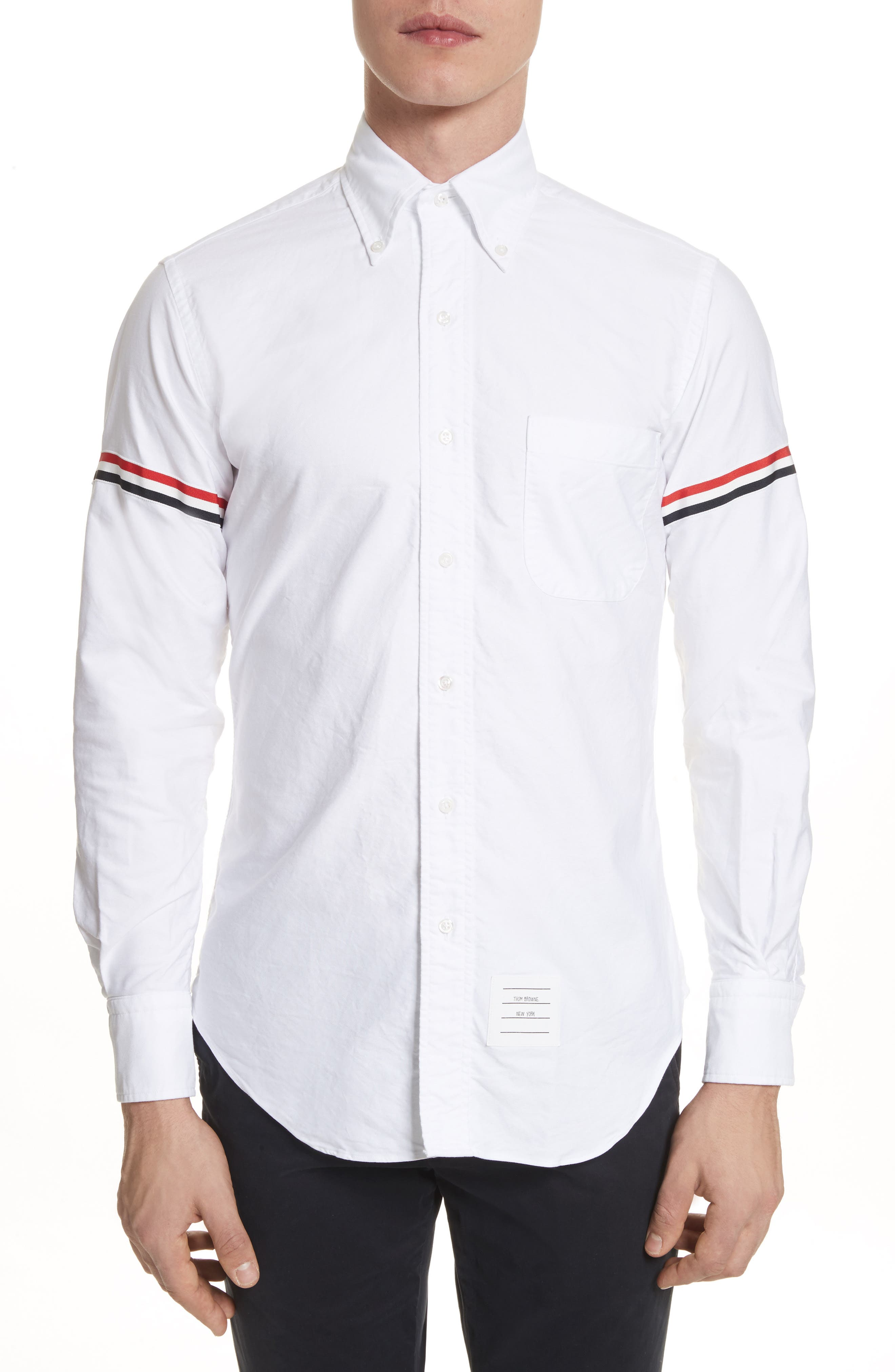 Oxford Shirt,                             Main thumbnail 1, color,                             White