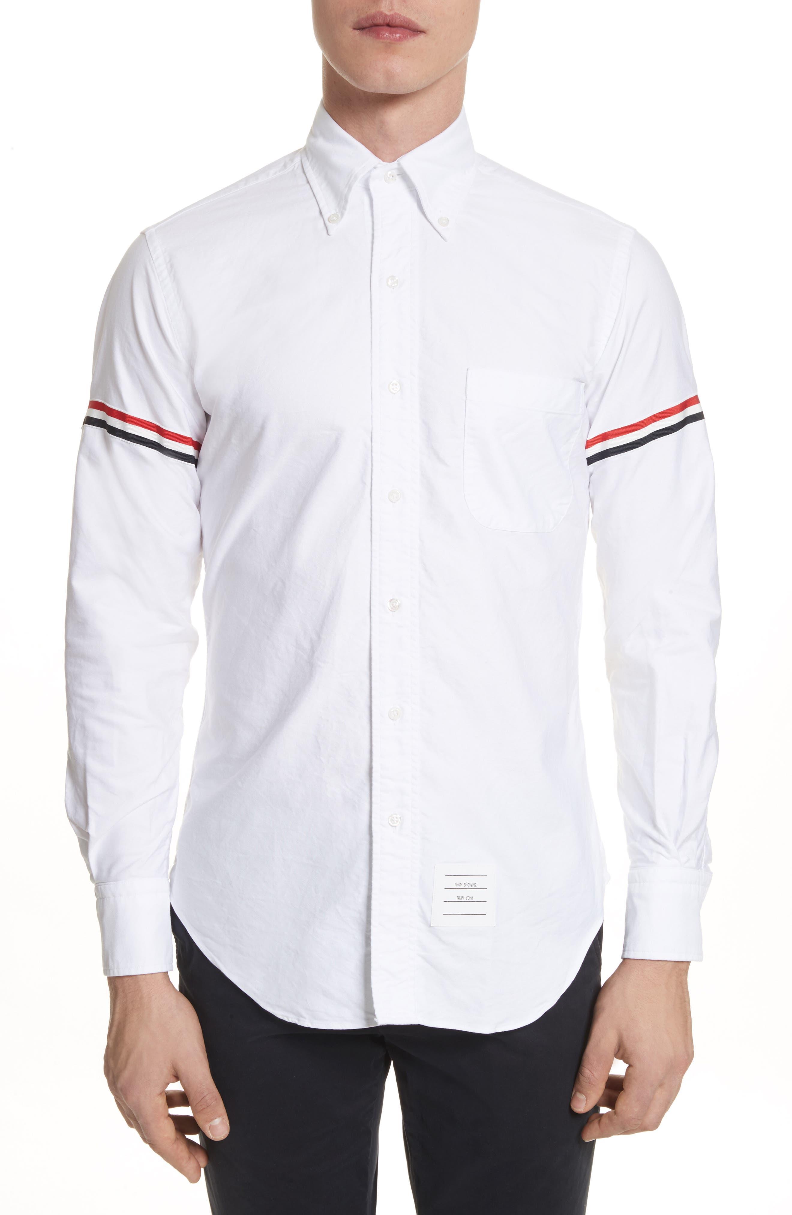 Oxford Shirt,                         Main,                         color, White