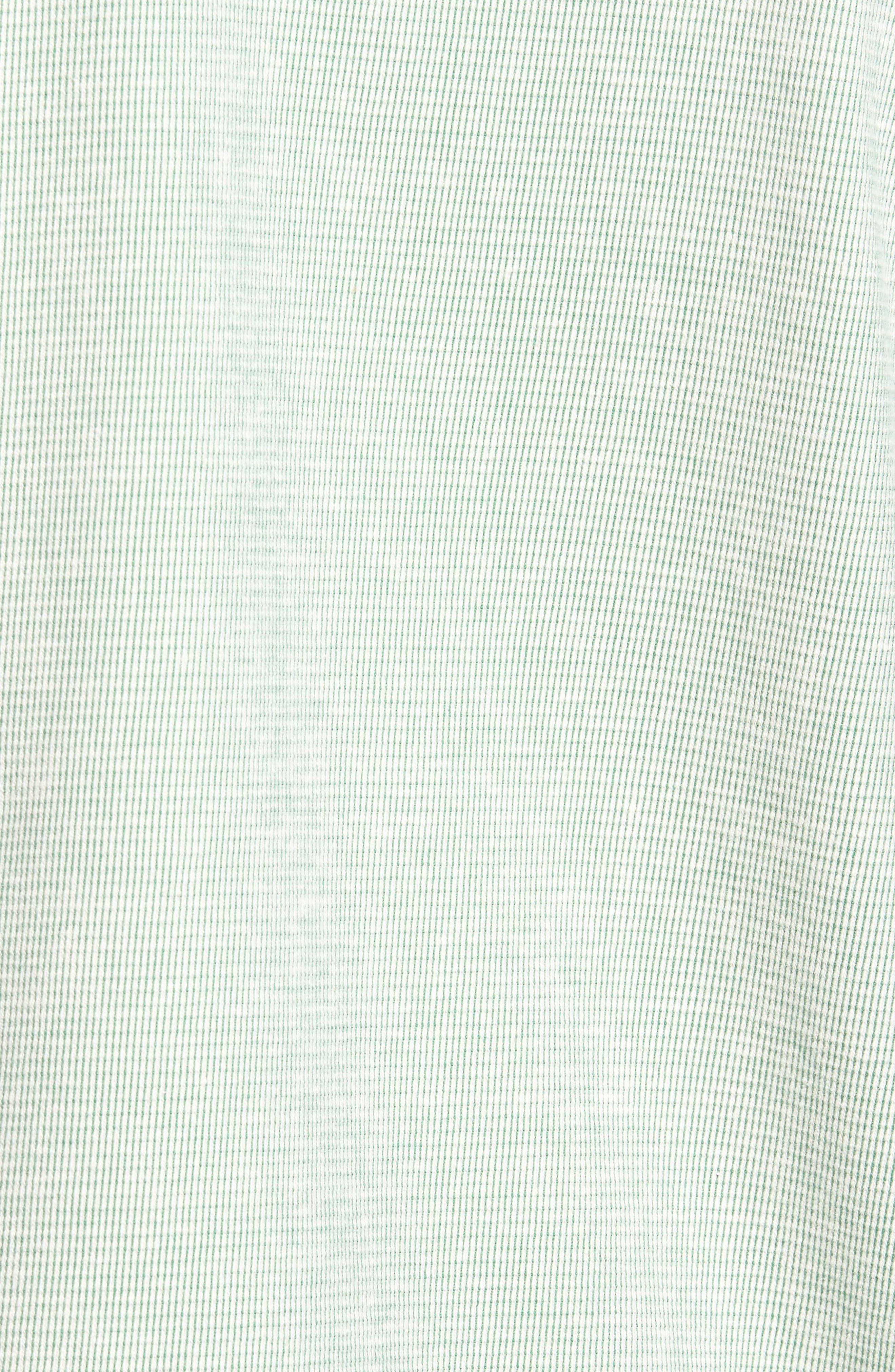 Ocean Mist Quarter-Snap Pullover,                             Alternate thumbnail 5, color,                             Deep Grass Green