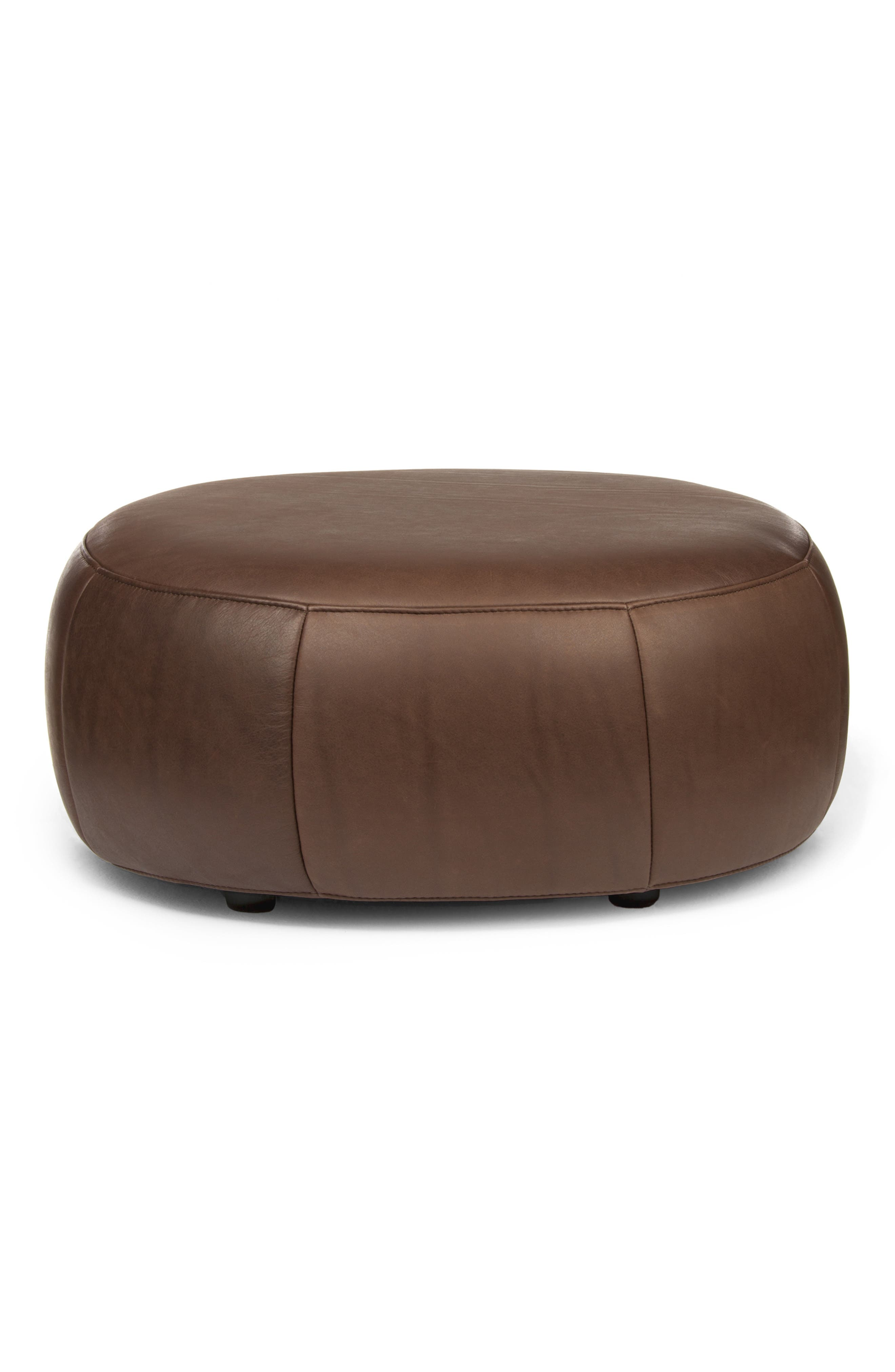 Alternate Image 1 Selected - Design on Stock USA Barrell Leather Stool