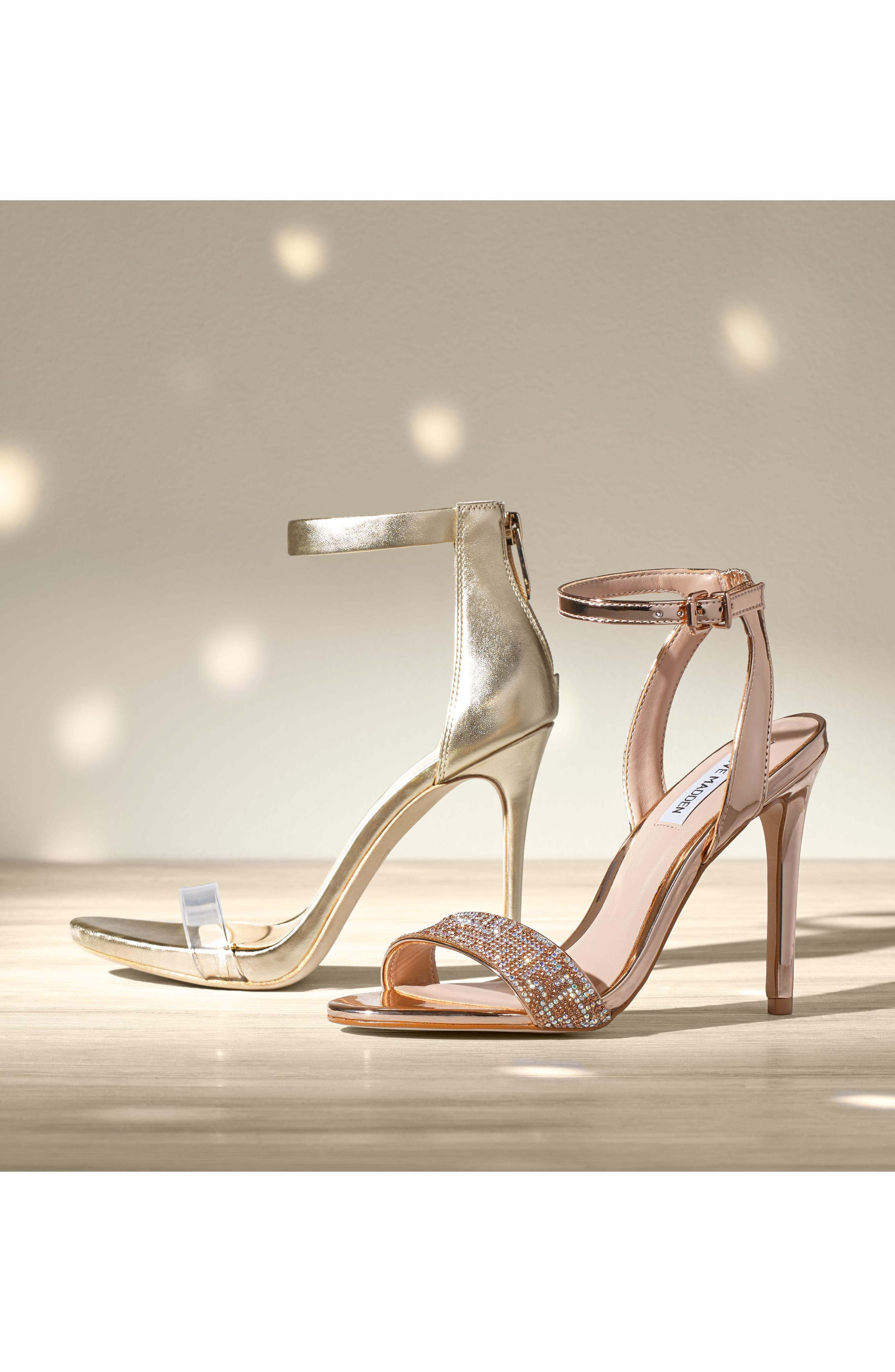 Leona Sandal,                             Alternate thumbnail 7, color,                             Rose Gold Leather