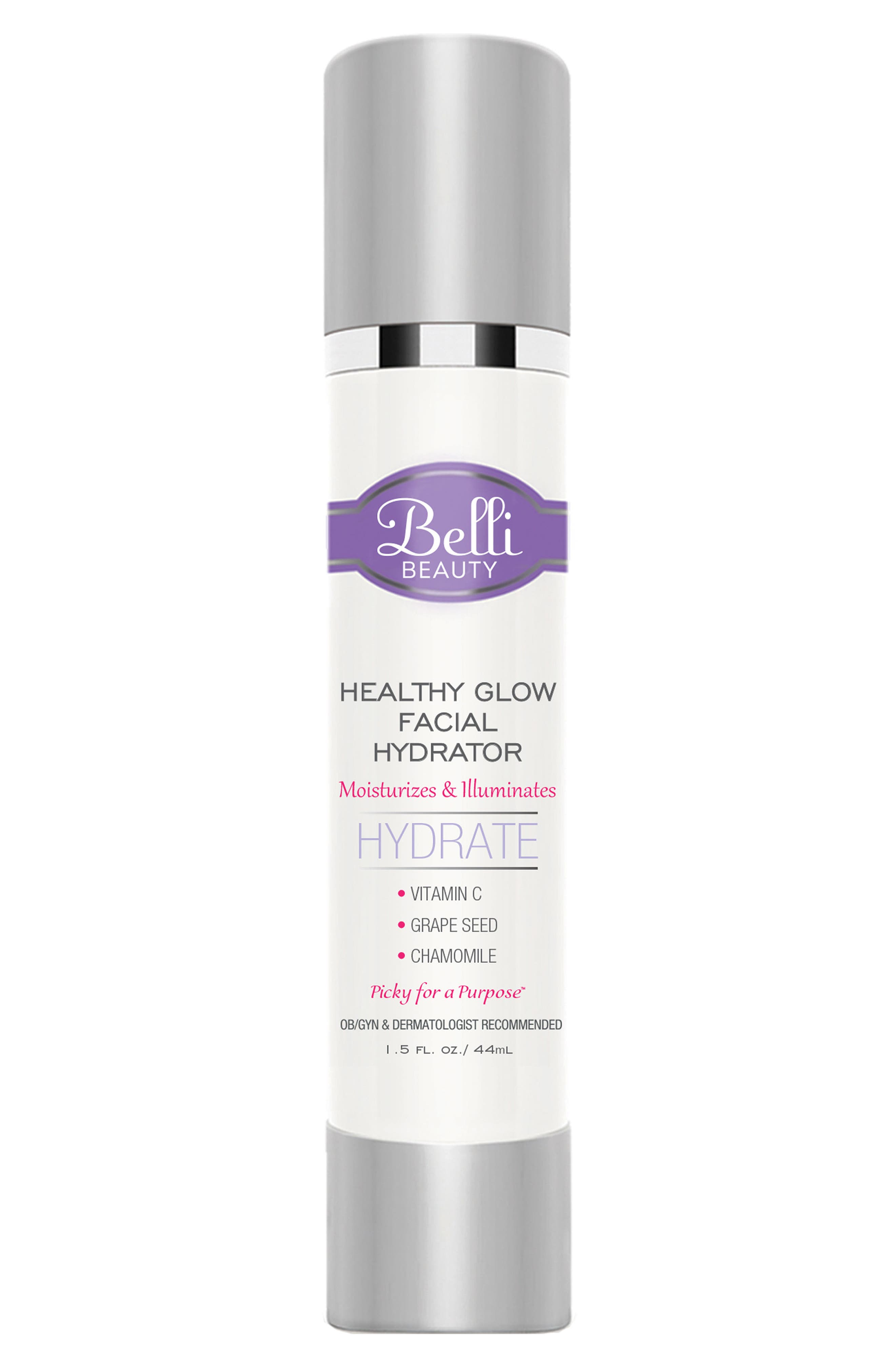 'Healthy Glow Facial Hydrator' Lightweight Moisturizer,                             Main thumbnail 1, color,                             White