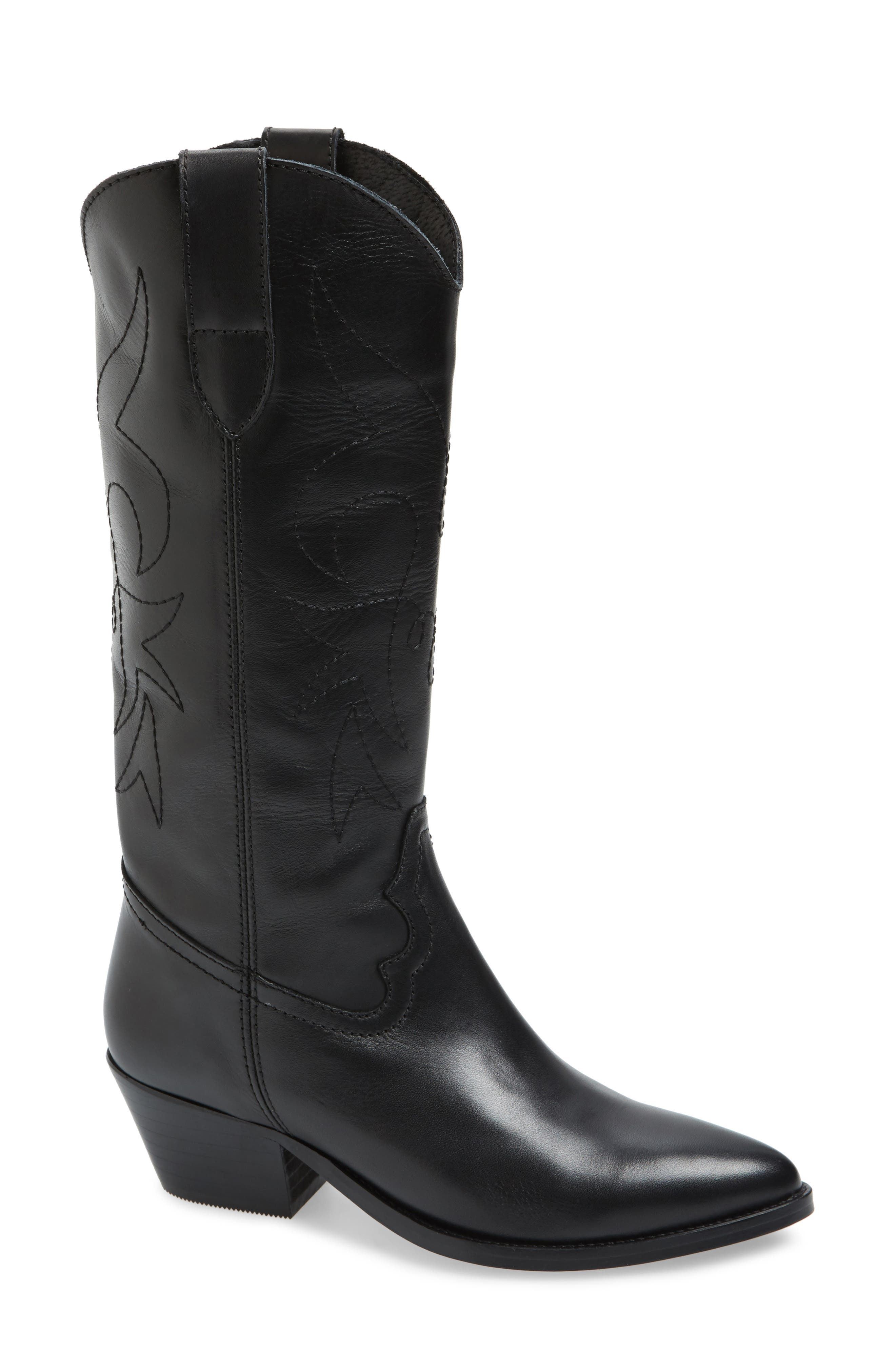 Main Image - Topshop Devious Western Boots (Women)