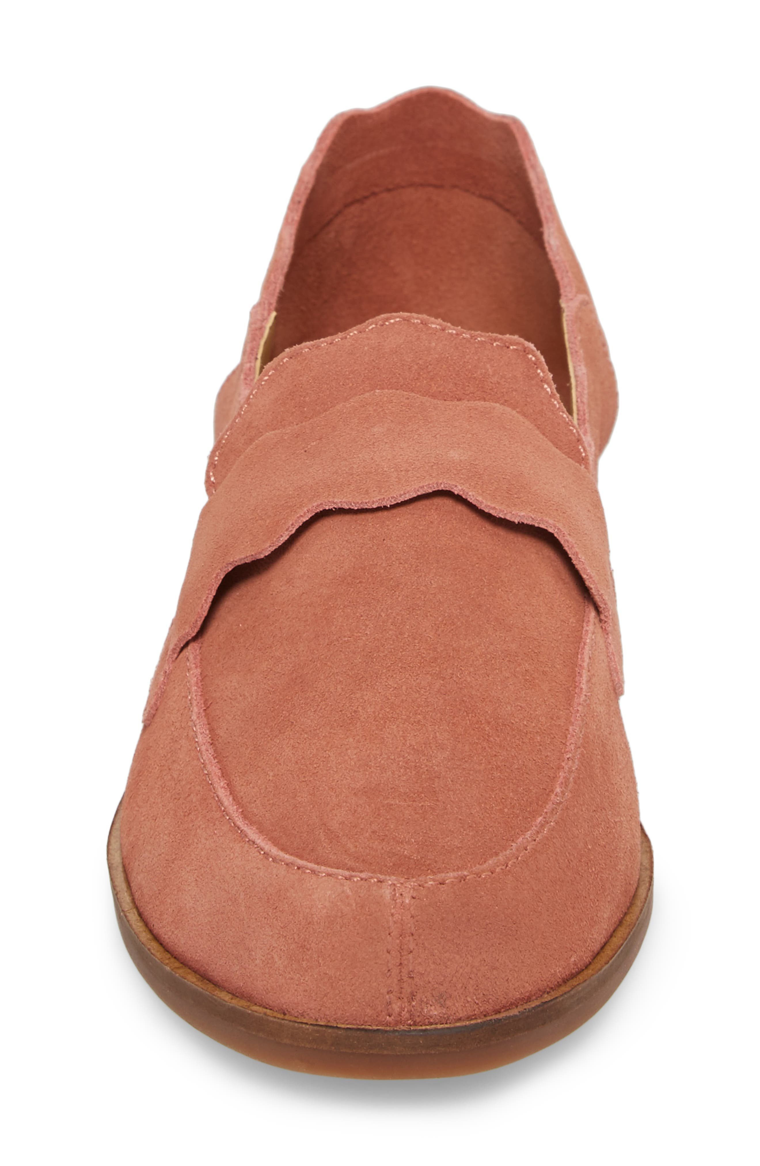 Callister Loafer,                             Alternate thumbnail 4, color,                             Canyon Rose Suede