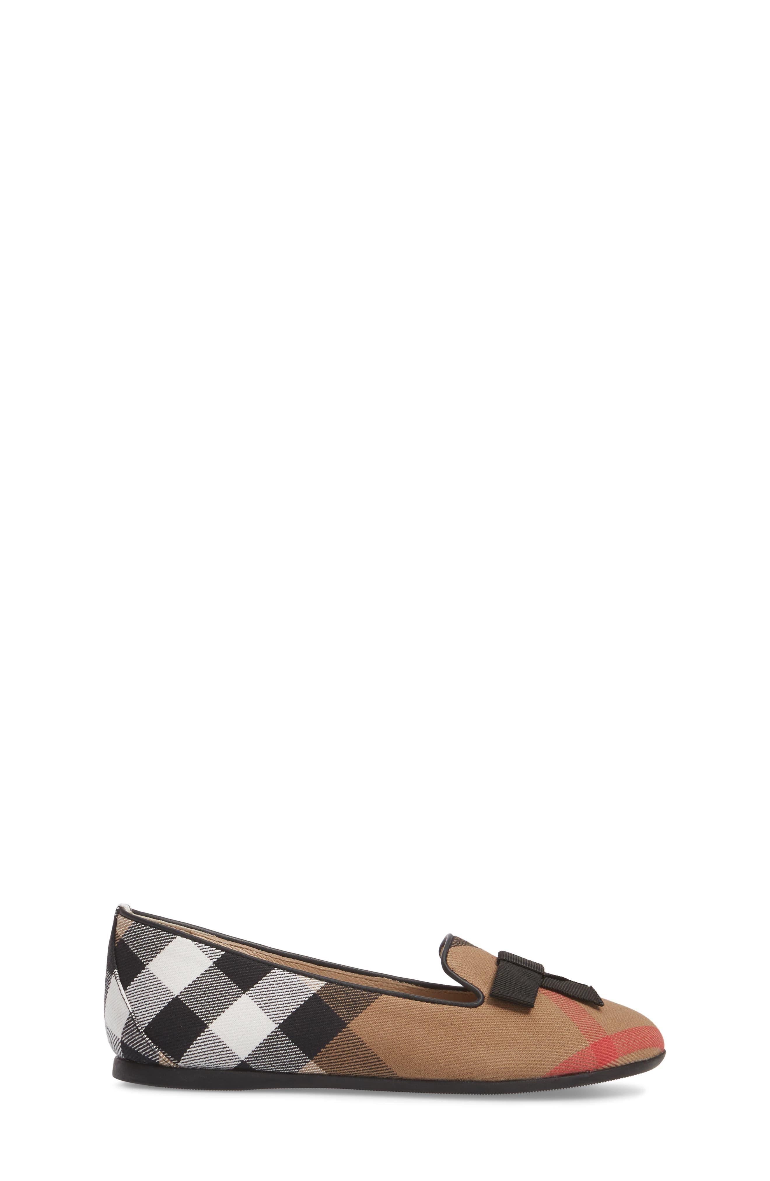 Alternate Image 3  - Burberry Ally Bow Loafer Flat (Walker, Toddler & Little Kid)