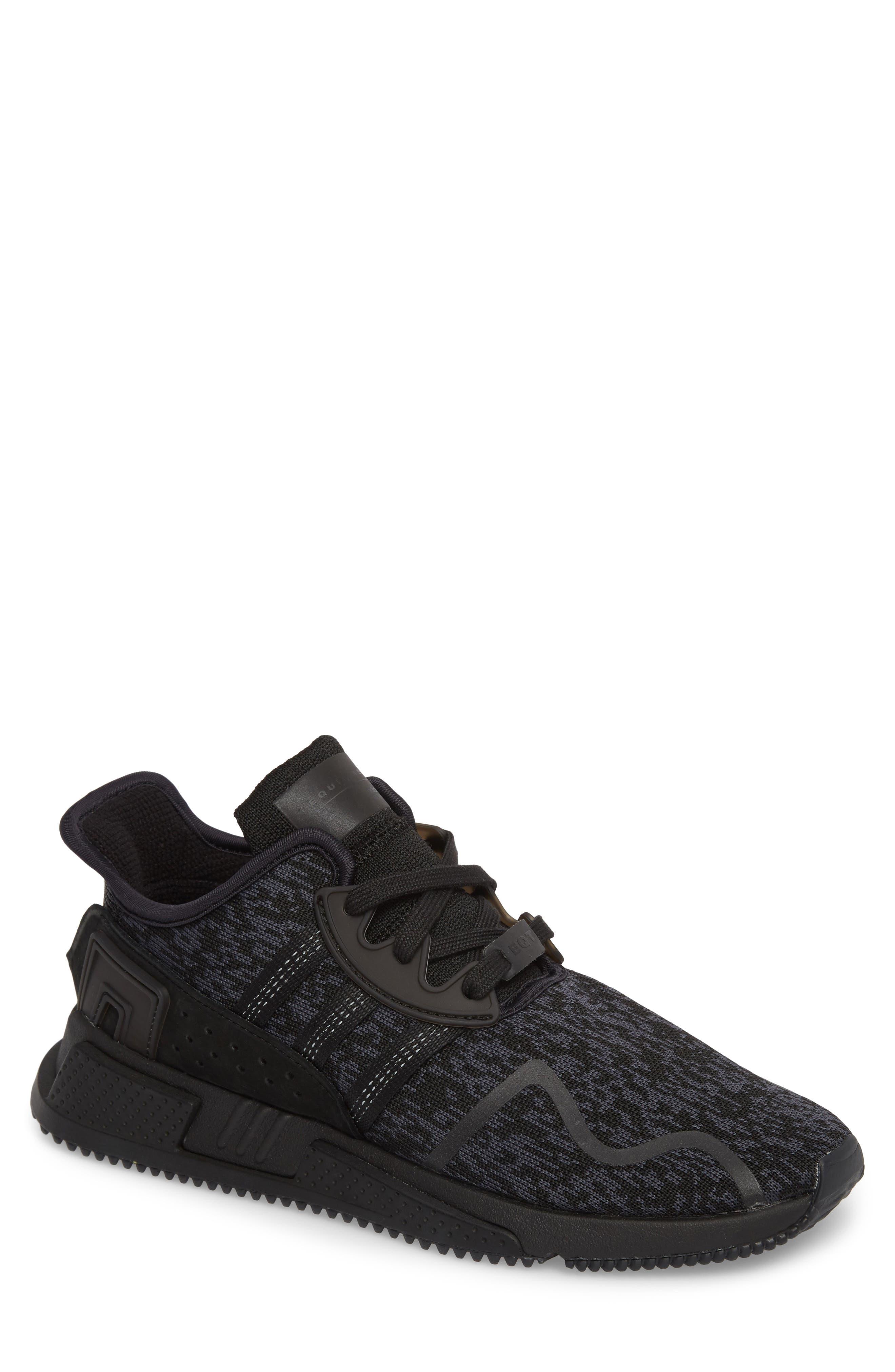EQT Cushion ADV Sneaker,                             Main thumbnail 1, color,                             Core Black/ Core Black