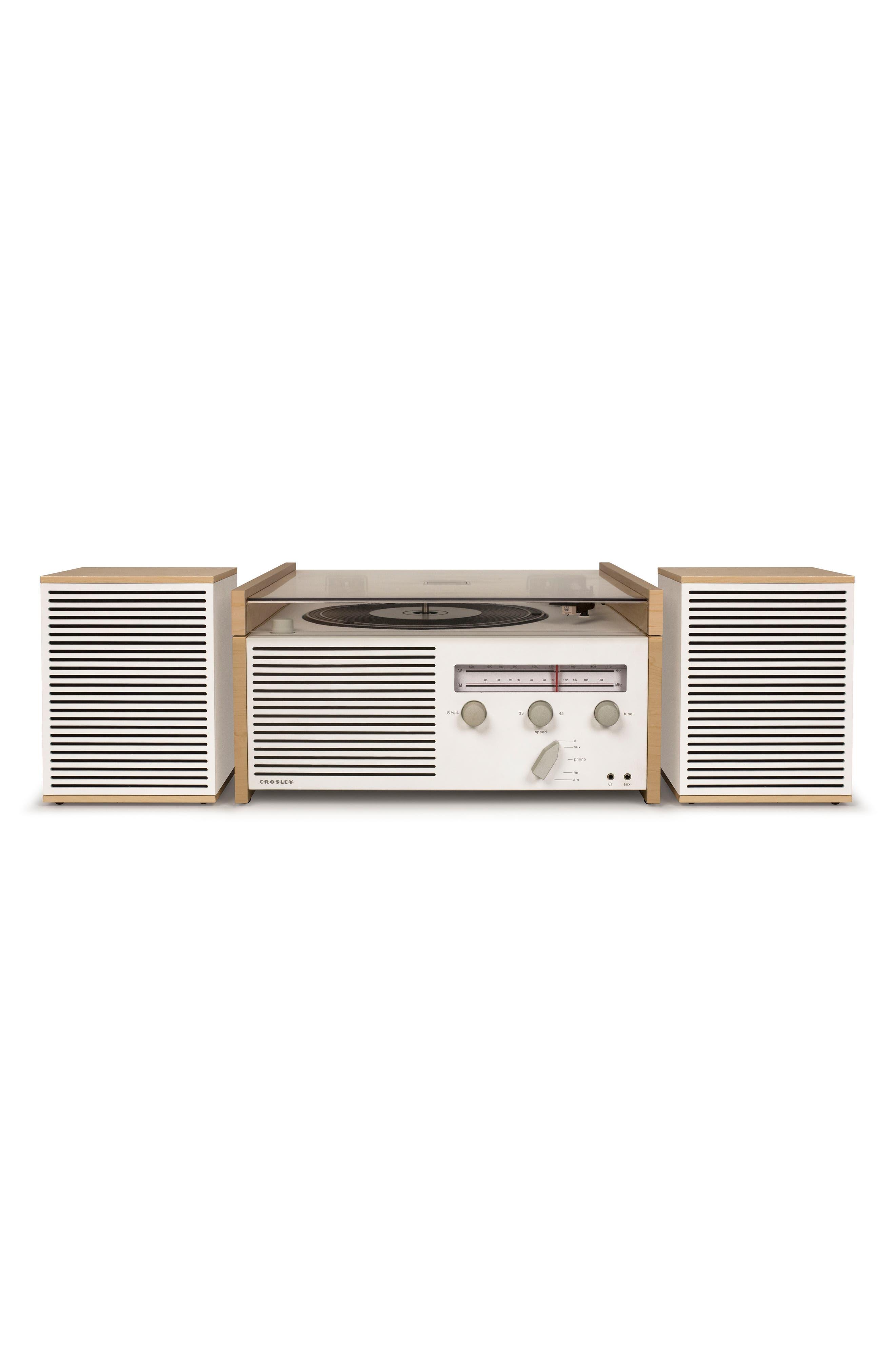 Alternate Image 3  - Crosley Radio Switch II Turntable & Speakers Entertainment System