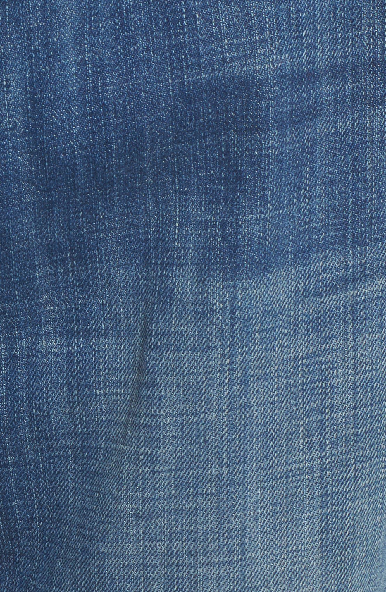 The Fling Boyfriend Jeans,                             Alternate thumbnail 6, color,                             Isley Destroy