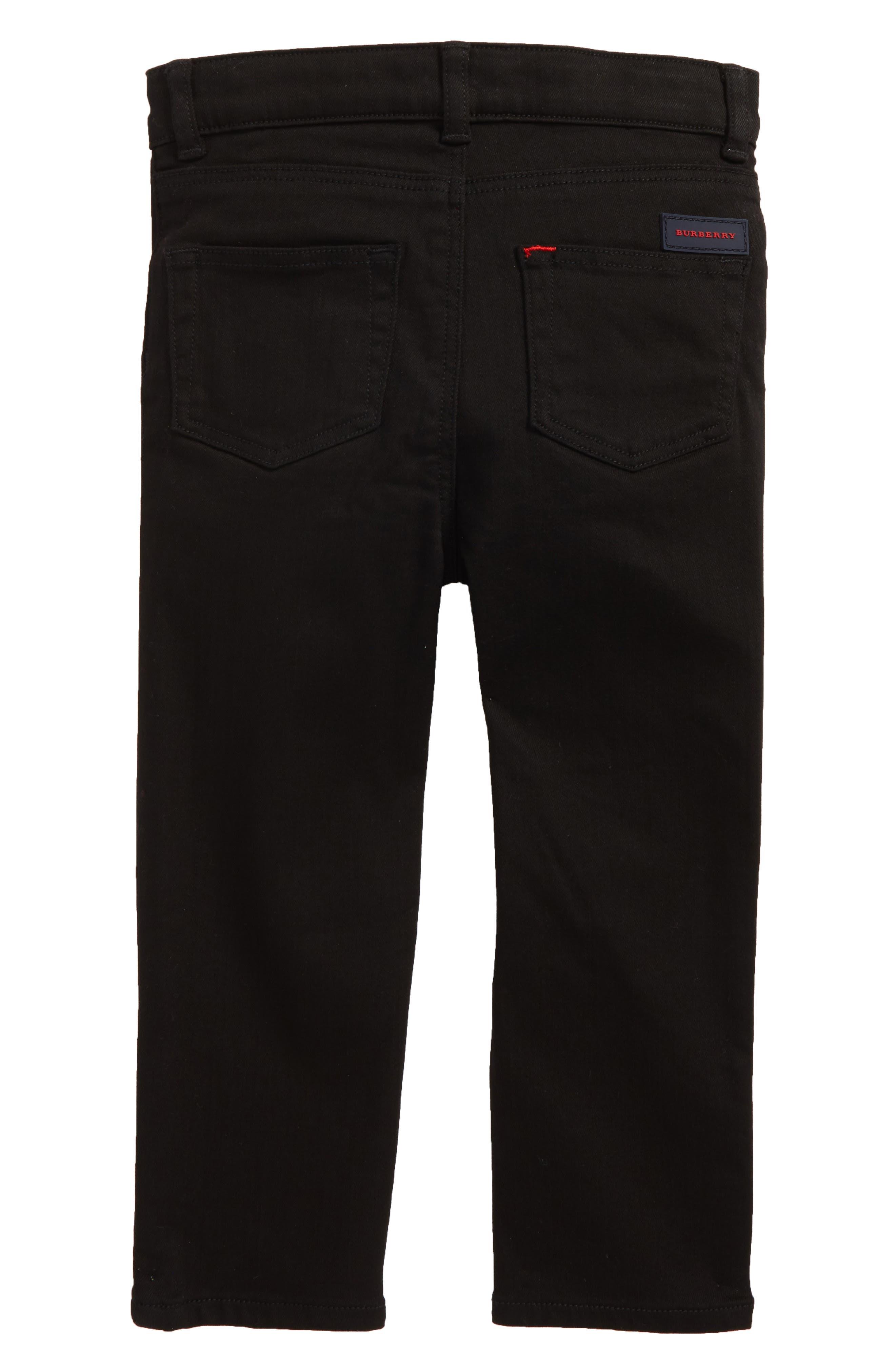 Alternate Image 2  - Burberry Skinny Jeans (Toddler Boys, Little Boys & Big Boys)