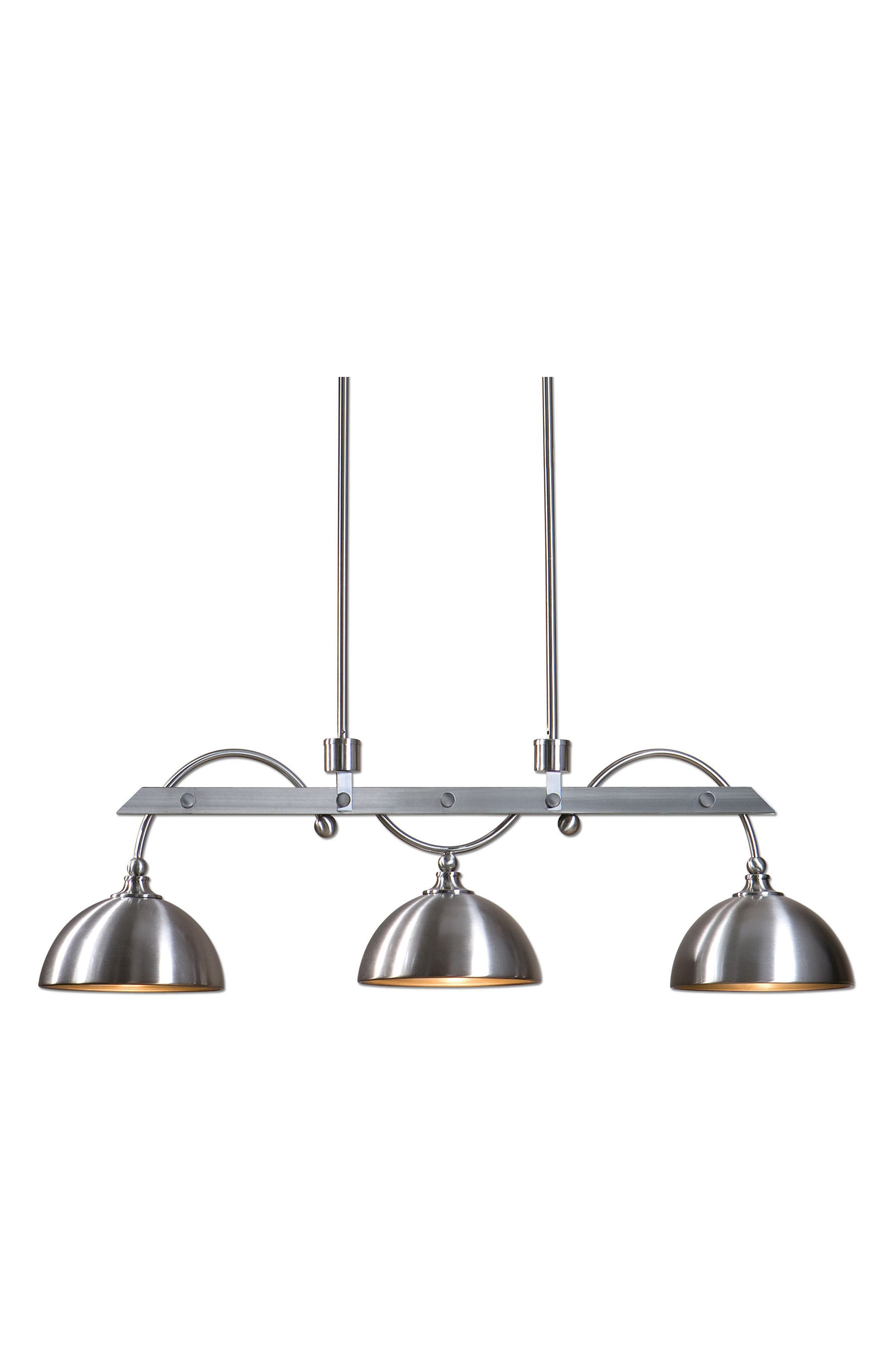 Malcolm Three-Light Fixture,                         Main,                         color, Grey
