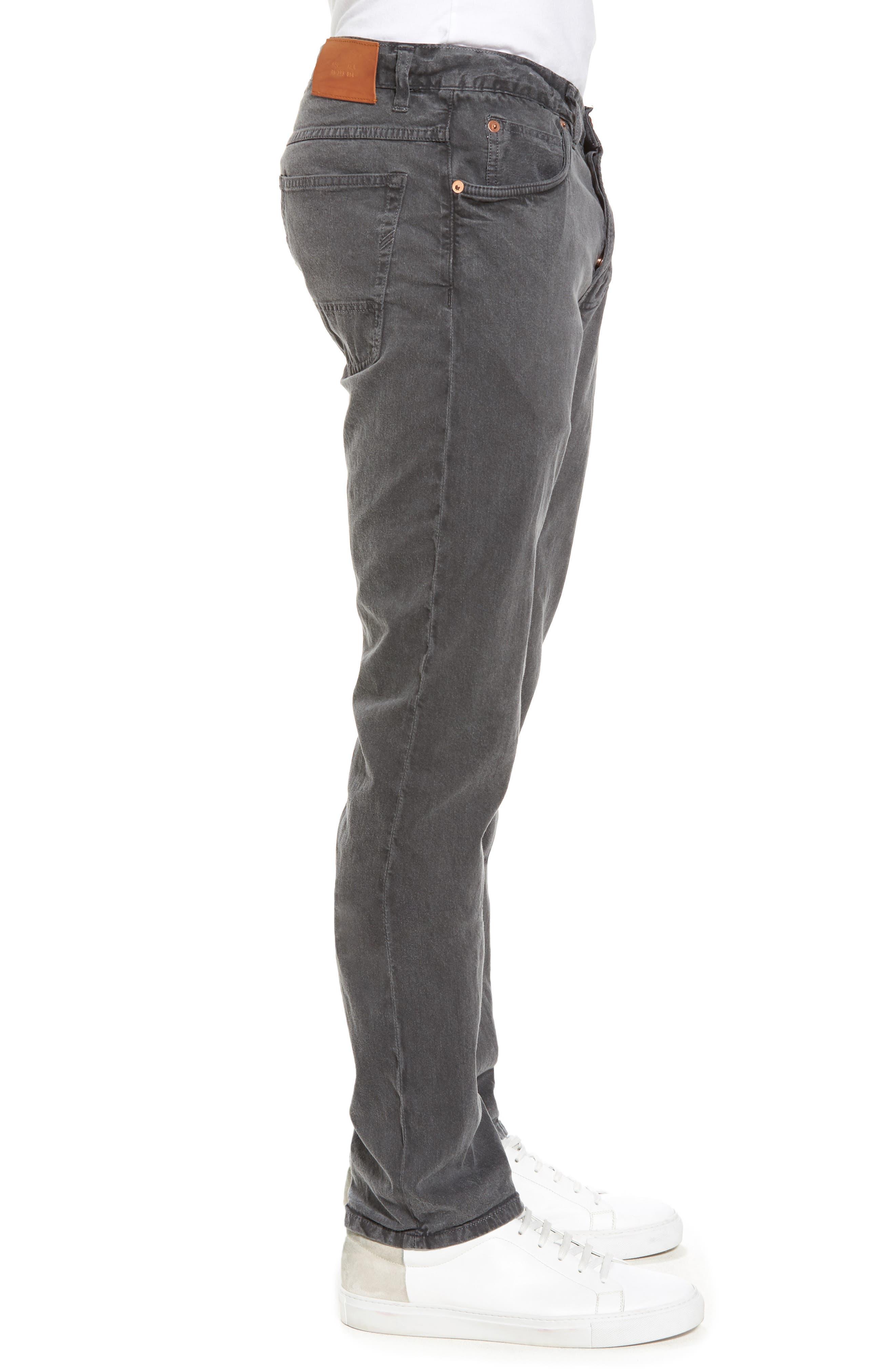 Alternate Image 3  - Billy Reid Slim Fit Selvedge Jeans
